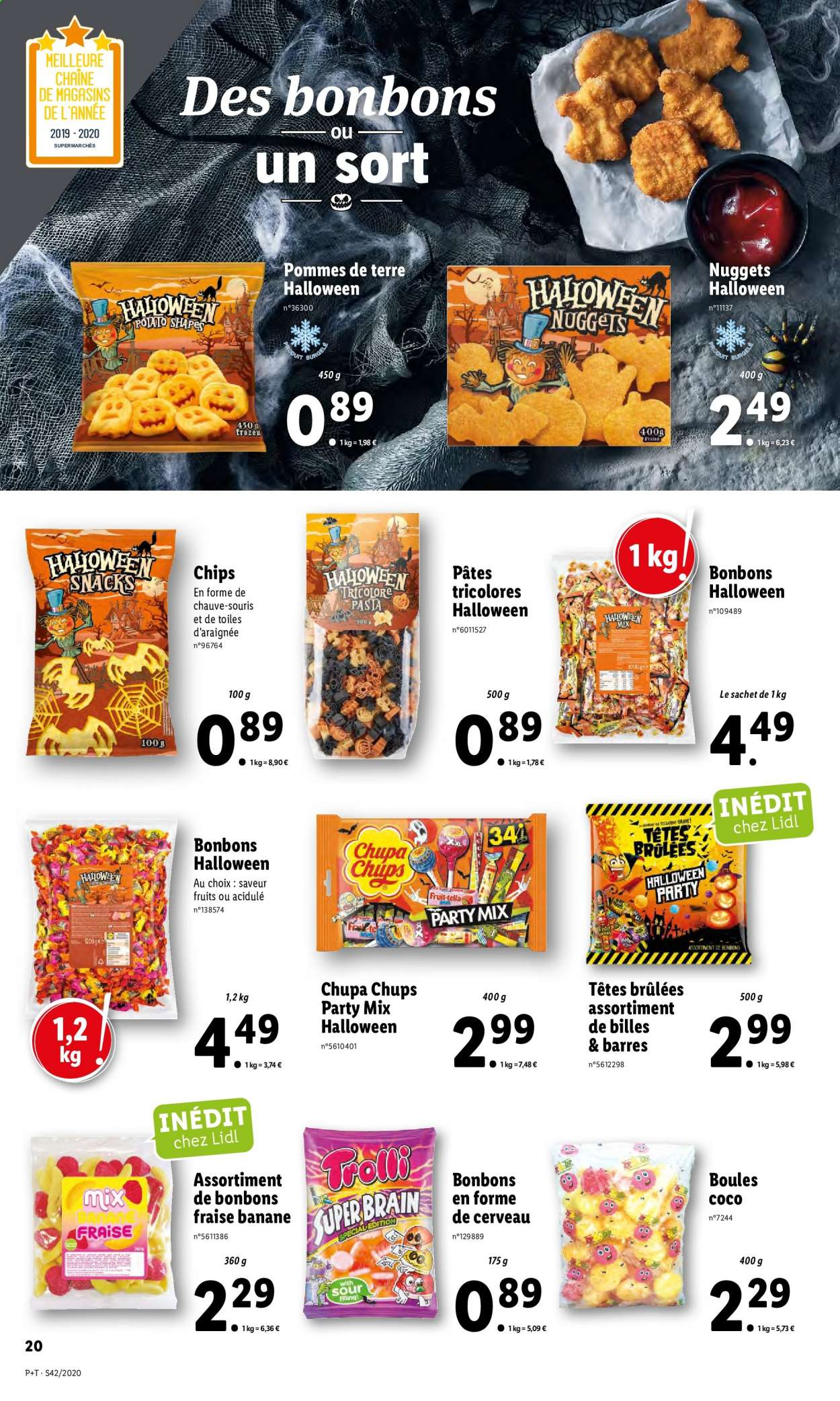 Catalogue Lidl - 14.10.2020 - 20.10.2020. Page 20.