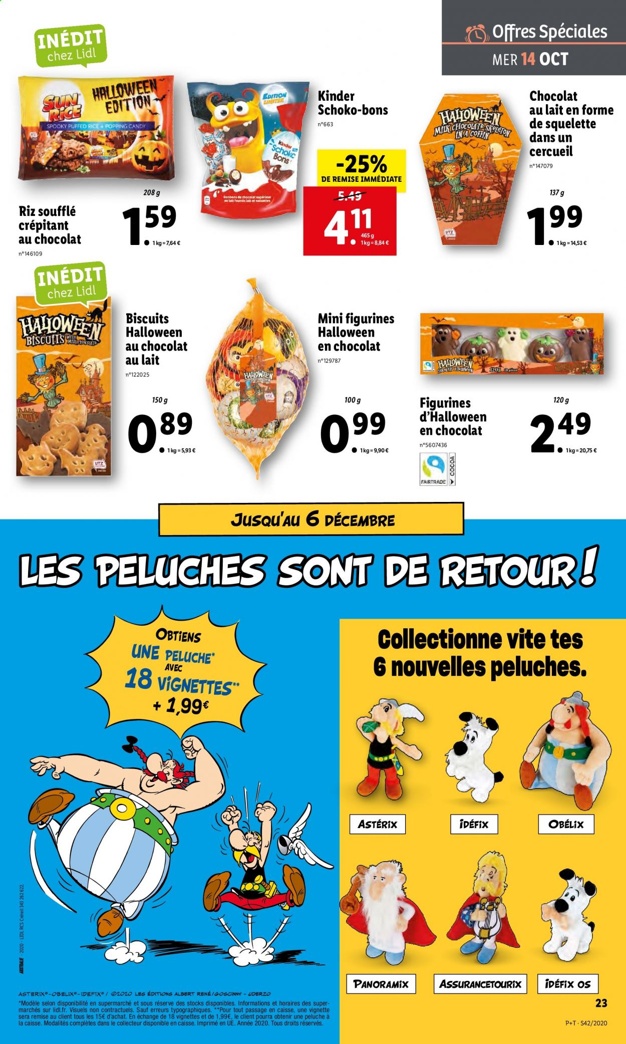 Catalogue Lidl - 14.10.2020 - 20.10.2020. Page 23.