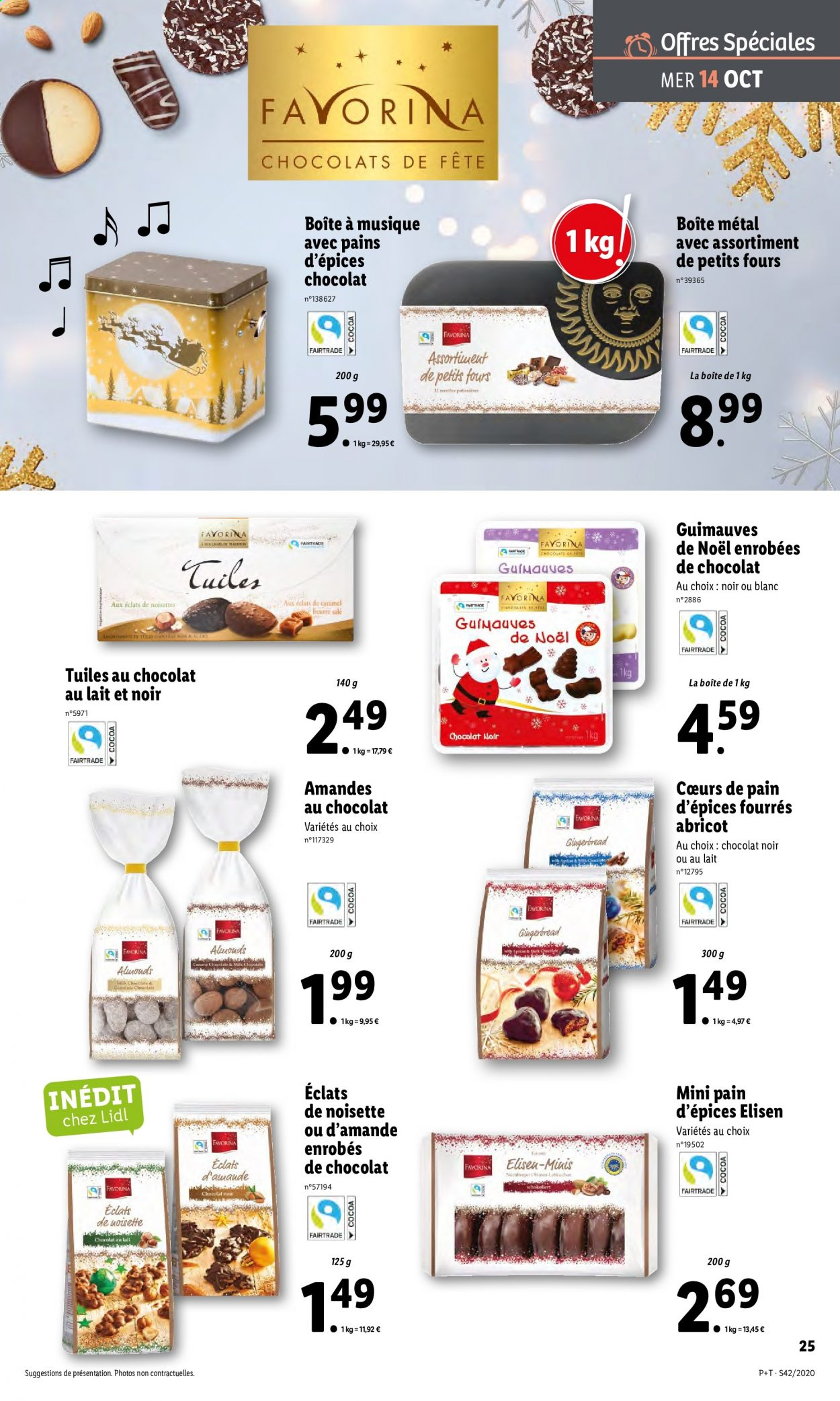 Catalogue Lidl - 14.10.2020 - 20.10.2020. Page 25.