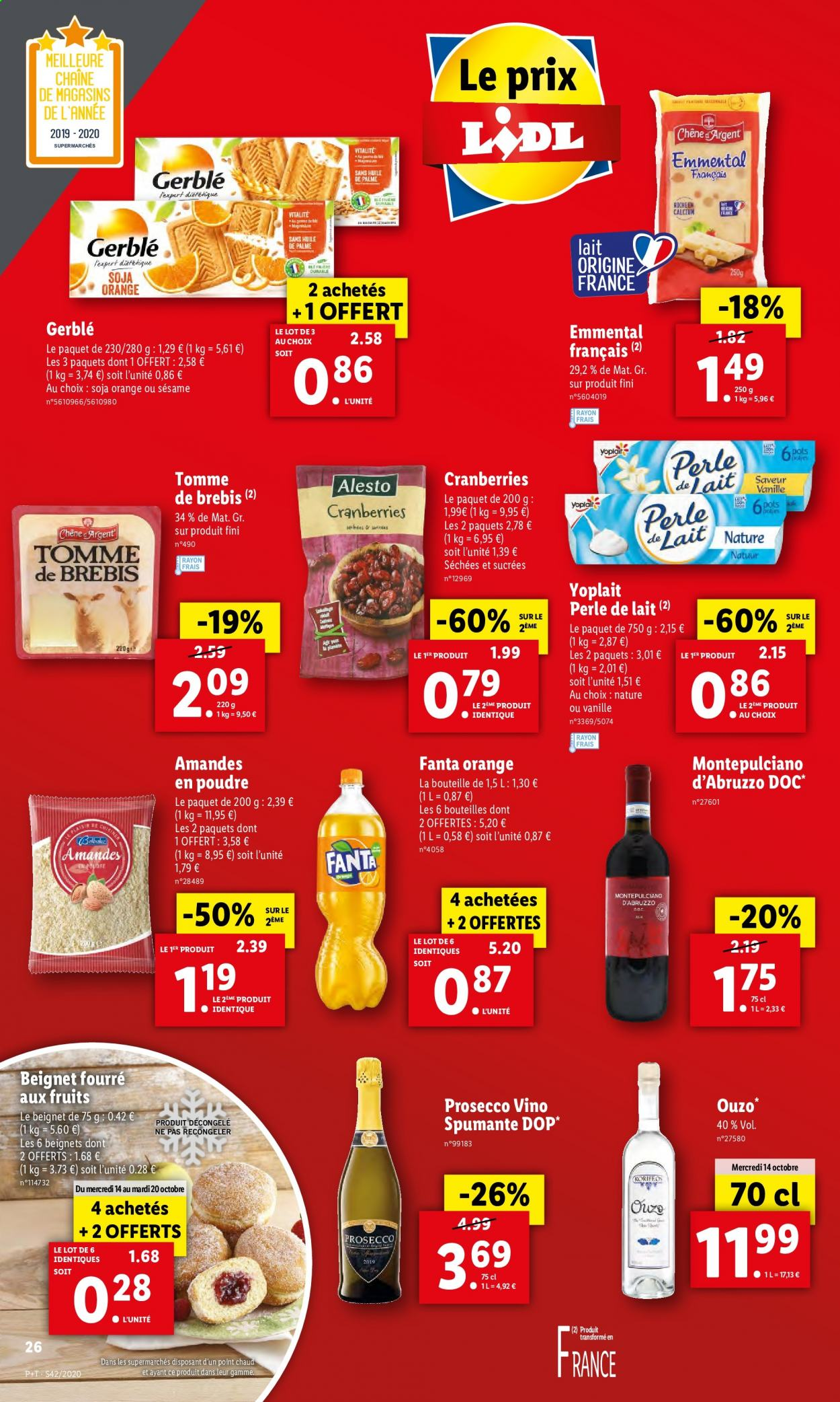 Catalogue Lidl - 14.10.2020 - 20.10.2020. Page 26.