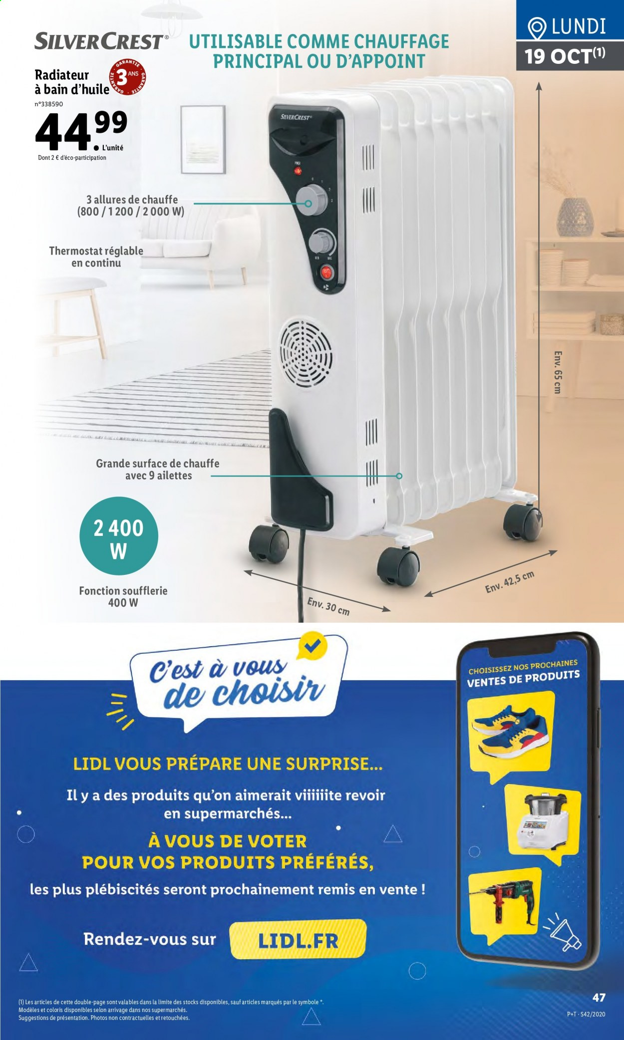 Catalogue Lidl - 14.10.2020 - 20.10.2020. Page 47.