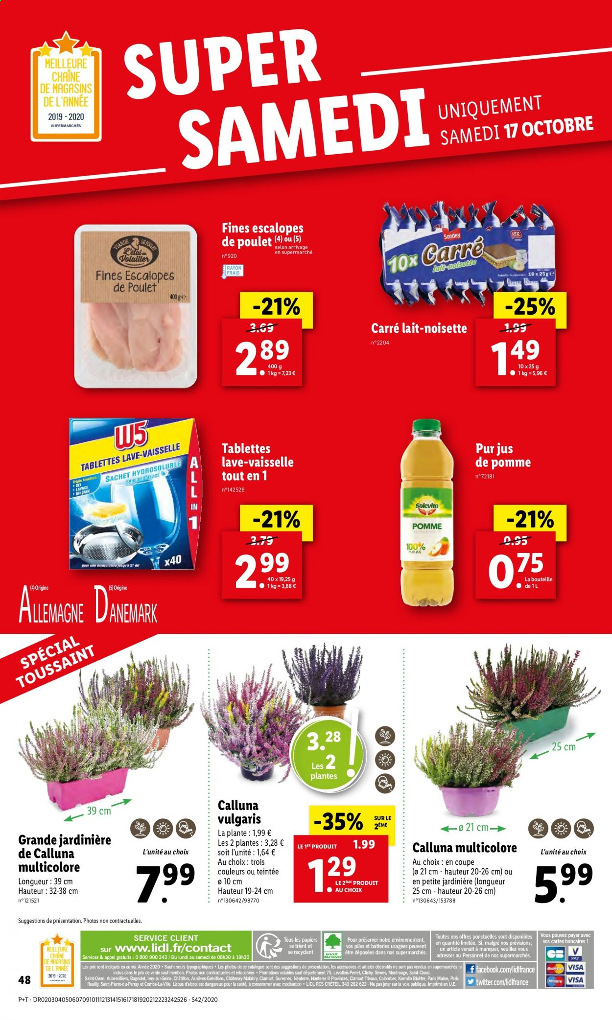 Catalogue Lidl - 14.10.2020 - 20.10.2020. Page 48.