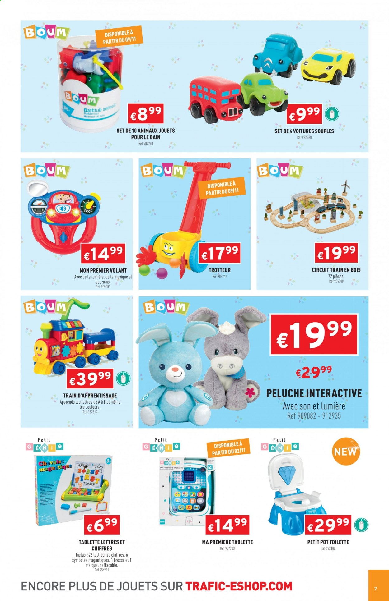 Catalogue Trafic - 12.10.2020 - 06.12.2020. Page 7.