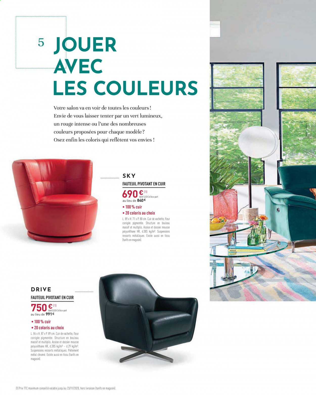 Catalogue Cuir Center - 14.10.2020 - 23.11.2020. Page 16.