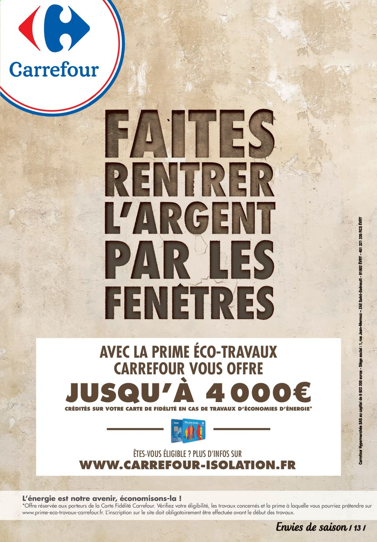 Catalogue Carrefour Contact - 17.10.2020 - 30.10.2020. Page 13.