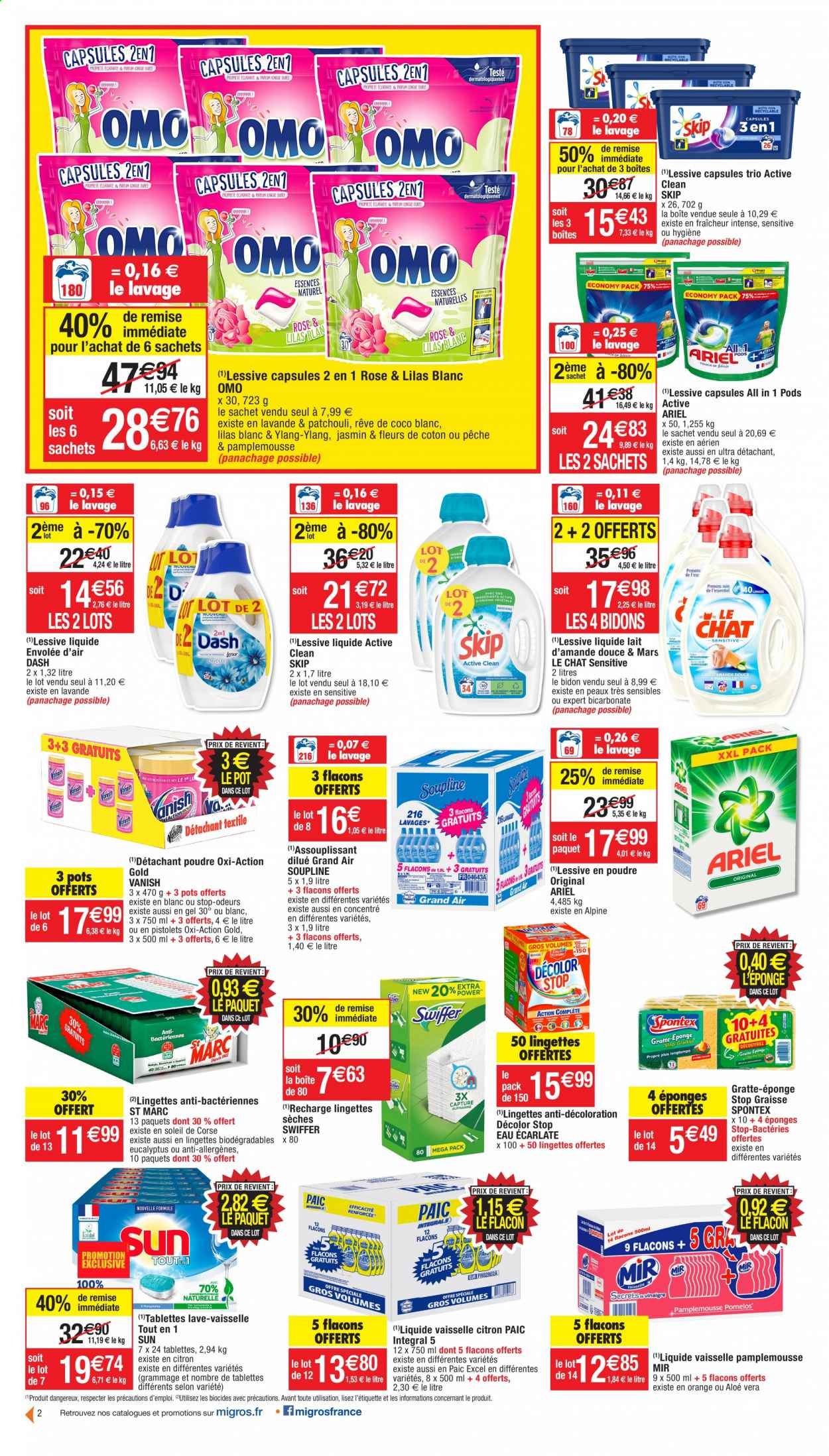 Catalogue Migros France - 20.10.2020 - 01.11.2020. Page 2.