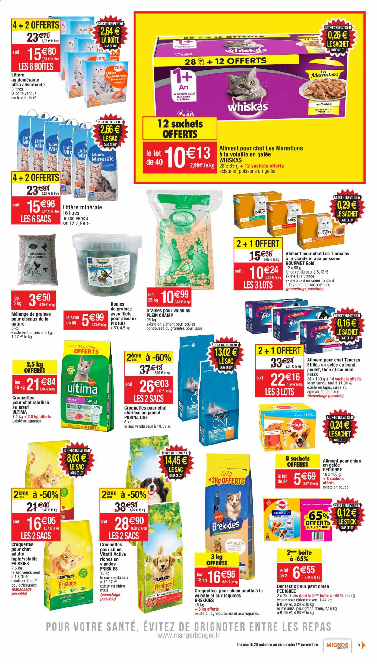 Catalogue Migros France - 20.10.2020 - 01.11.2020. Page 5.