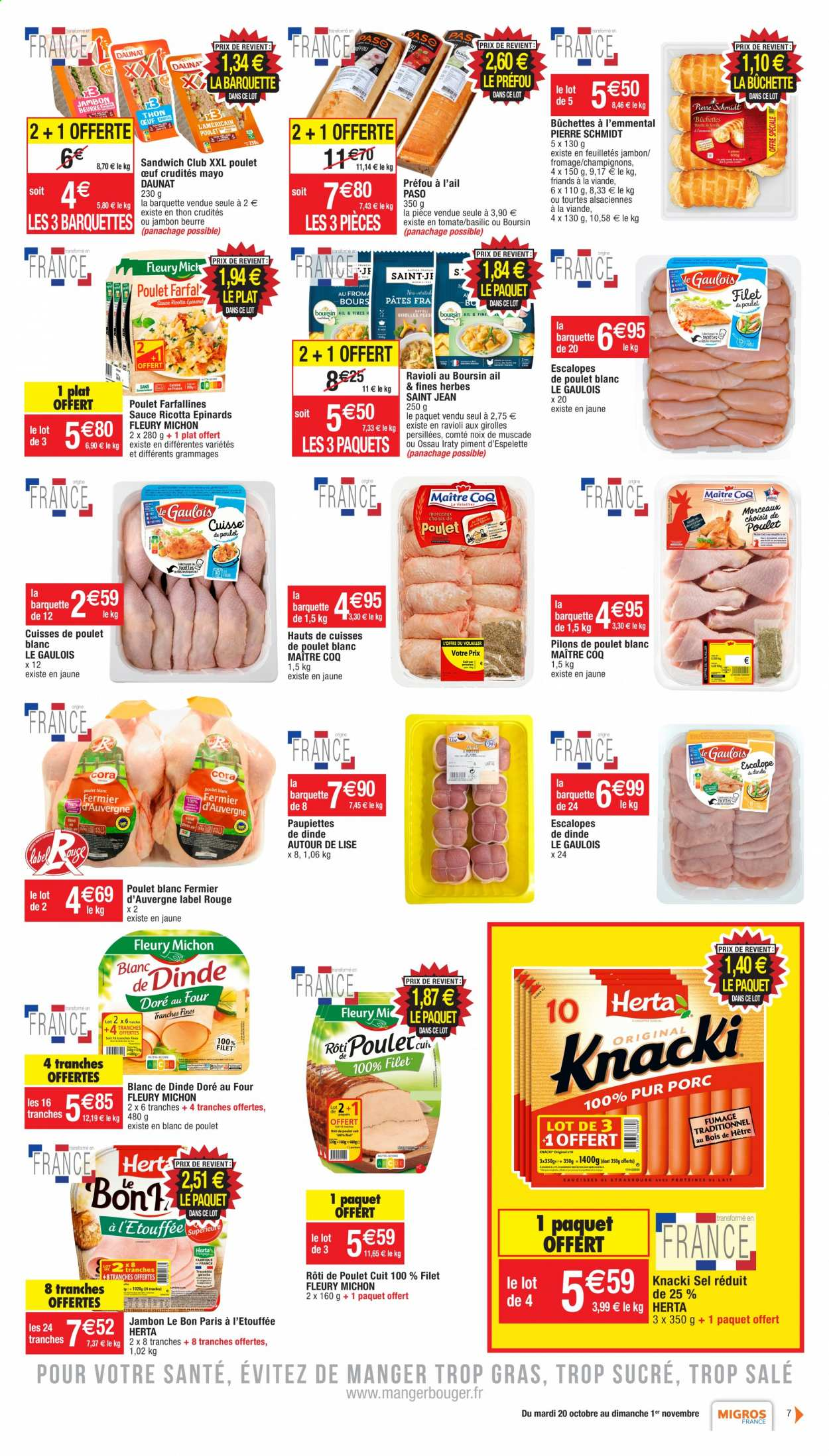 Catalogue Migros France - 20.10.2020 - 01.11.2020. Page 7.