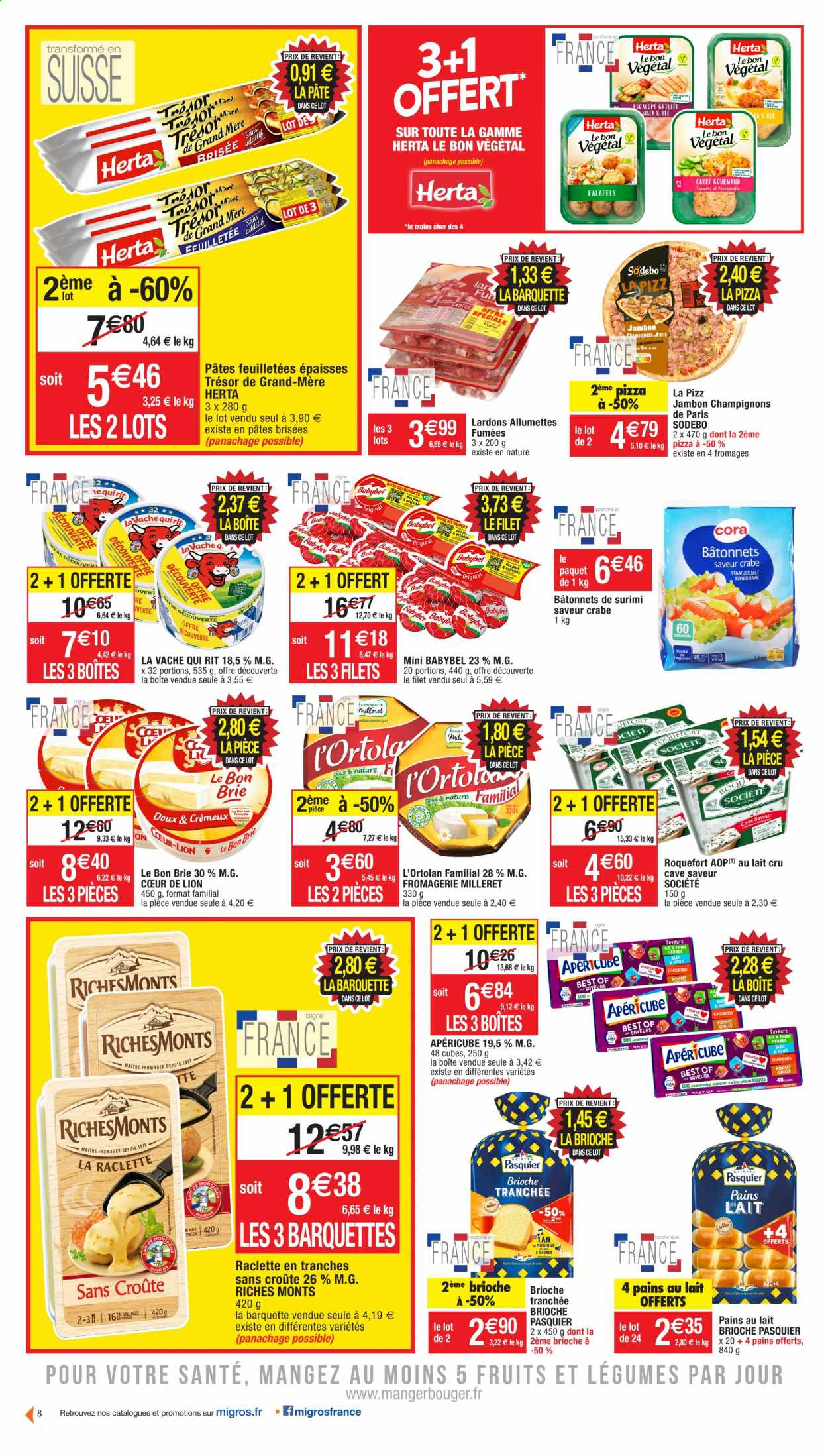 Catalogue Migros France - 20.10.2020 - 01.11.2020. Page 8.
