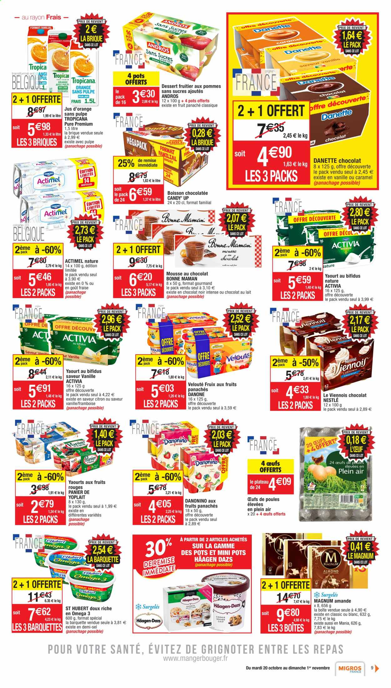 Catalogue Migros France - 20.10.2020 - 01.11.2020. Page 9.