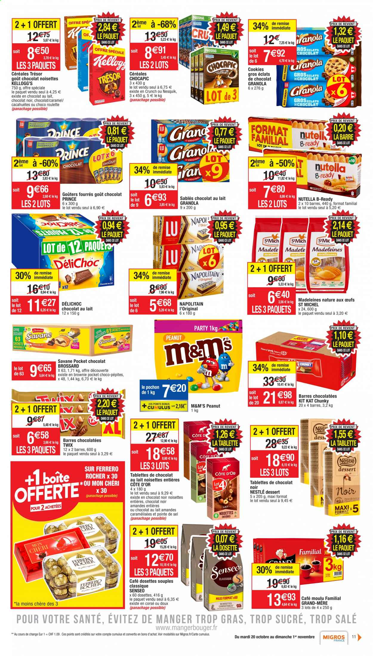 Catalogue Migros France - 20.10.2020 - 01.11.2020. Page 11.