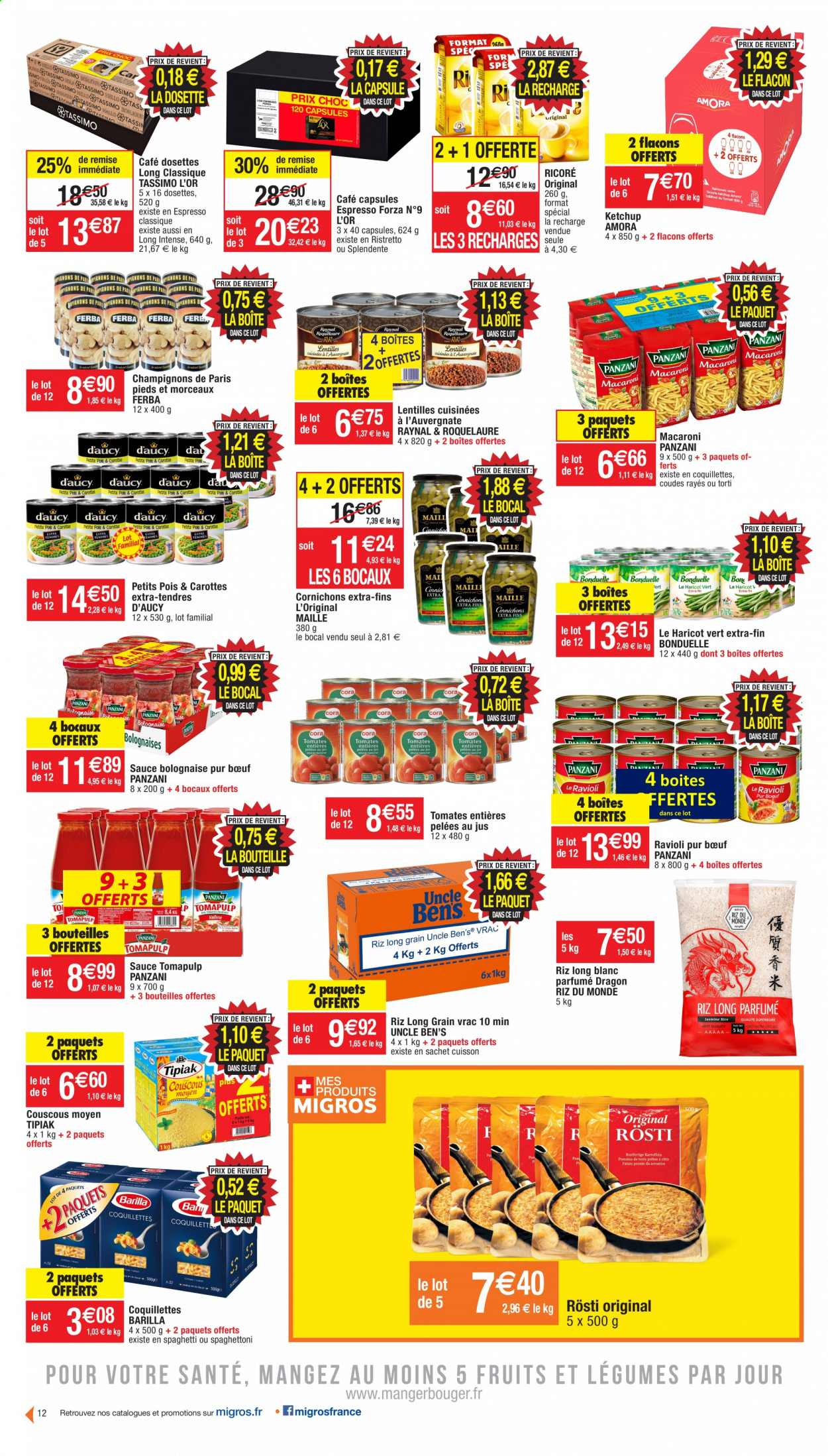 Catalogue Migros France - 20.10.2020 - 01.11.2020. Page 12.