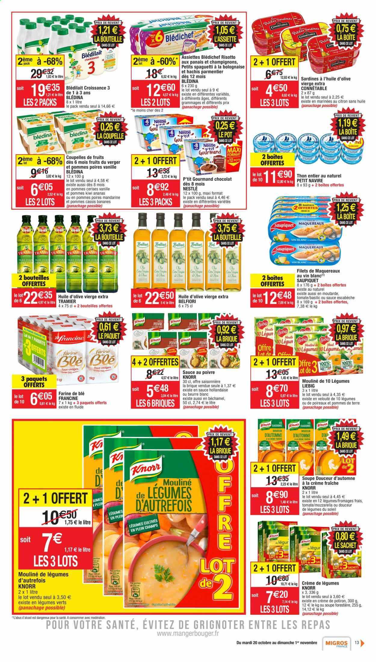 Catalogue Migros France - 20.10.2020 - 01.11.2020. Page 13.