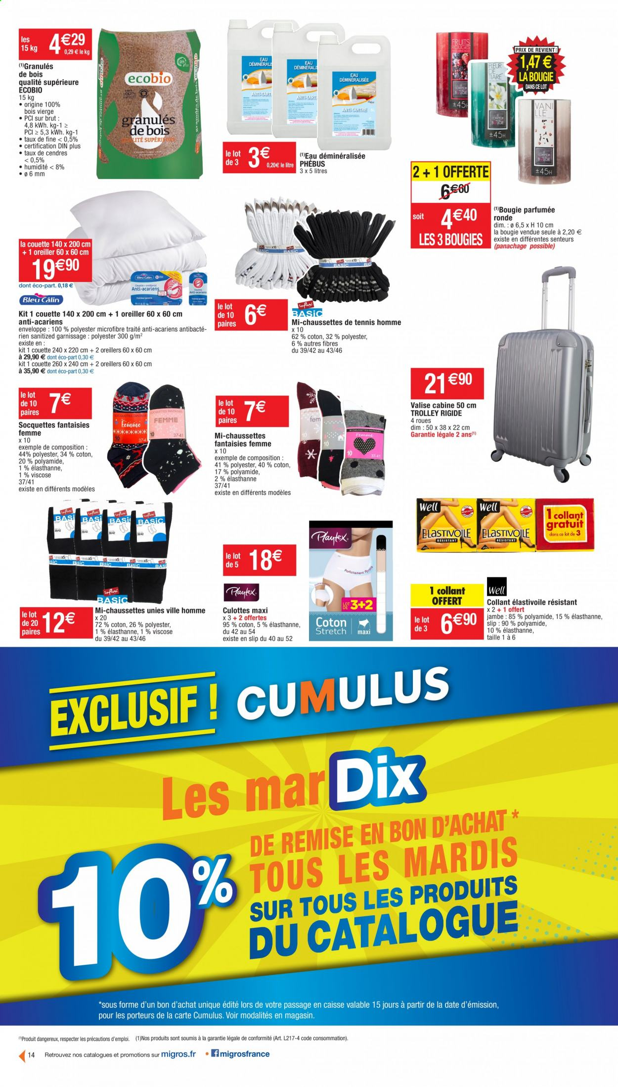 Catalogue Migros France - 20.10.2020 - 01.11.2020. Page 14.