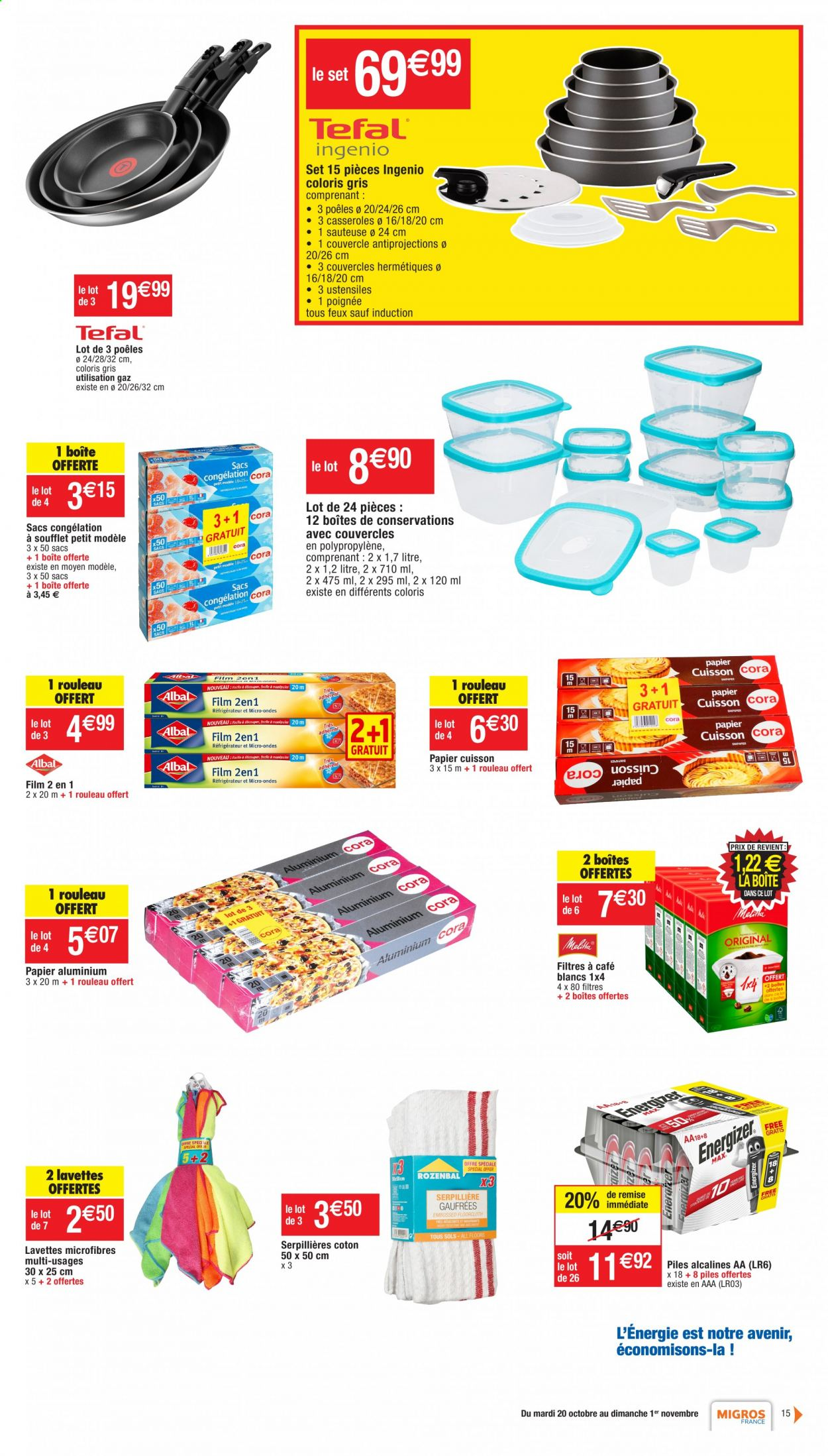 Catalogue Migros France - 20.10.2020 - 01.11.2020. Page 15.
