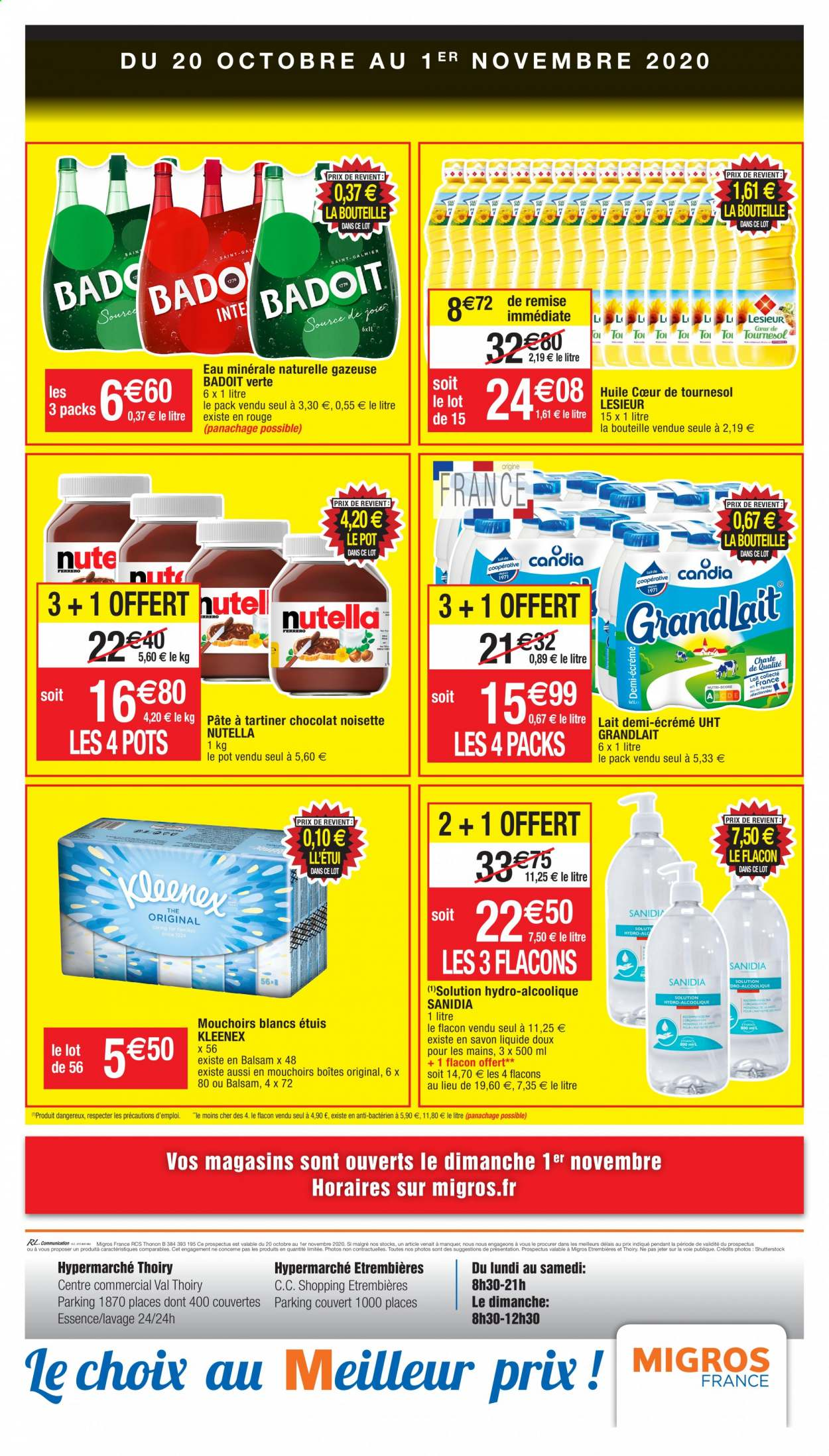 Catalogue Migros France - 20.10.2020 - 01.11.2020. Page 16.