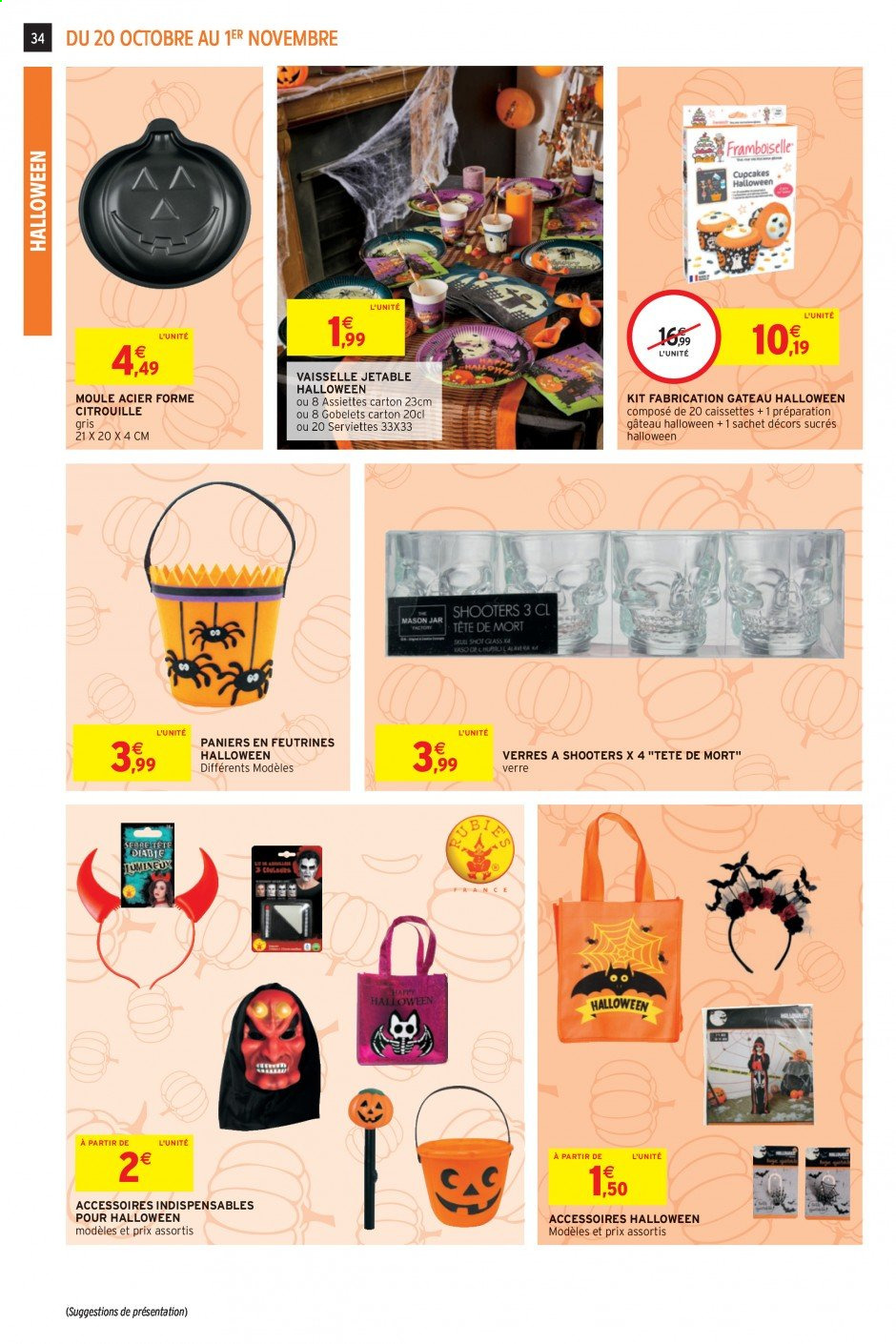 Catalogue Intermarché Hyper - 20.10.2020 - 01.11.2020. Page 34.