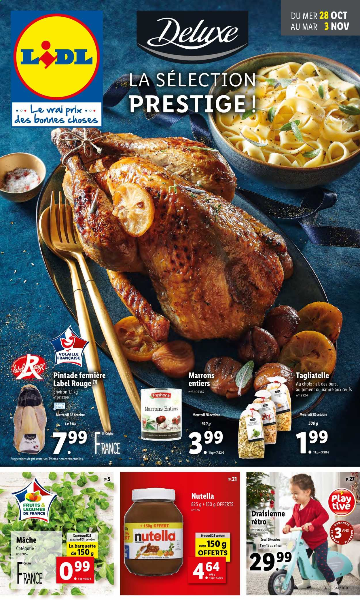Catalogue Lidl - 28.10.2020 - 03.11.2020. Page 1.