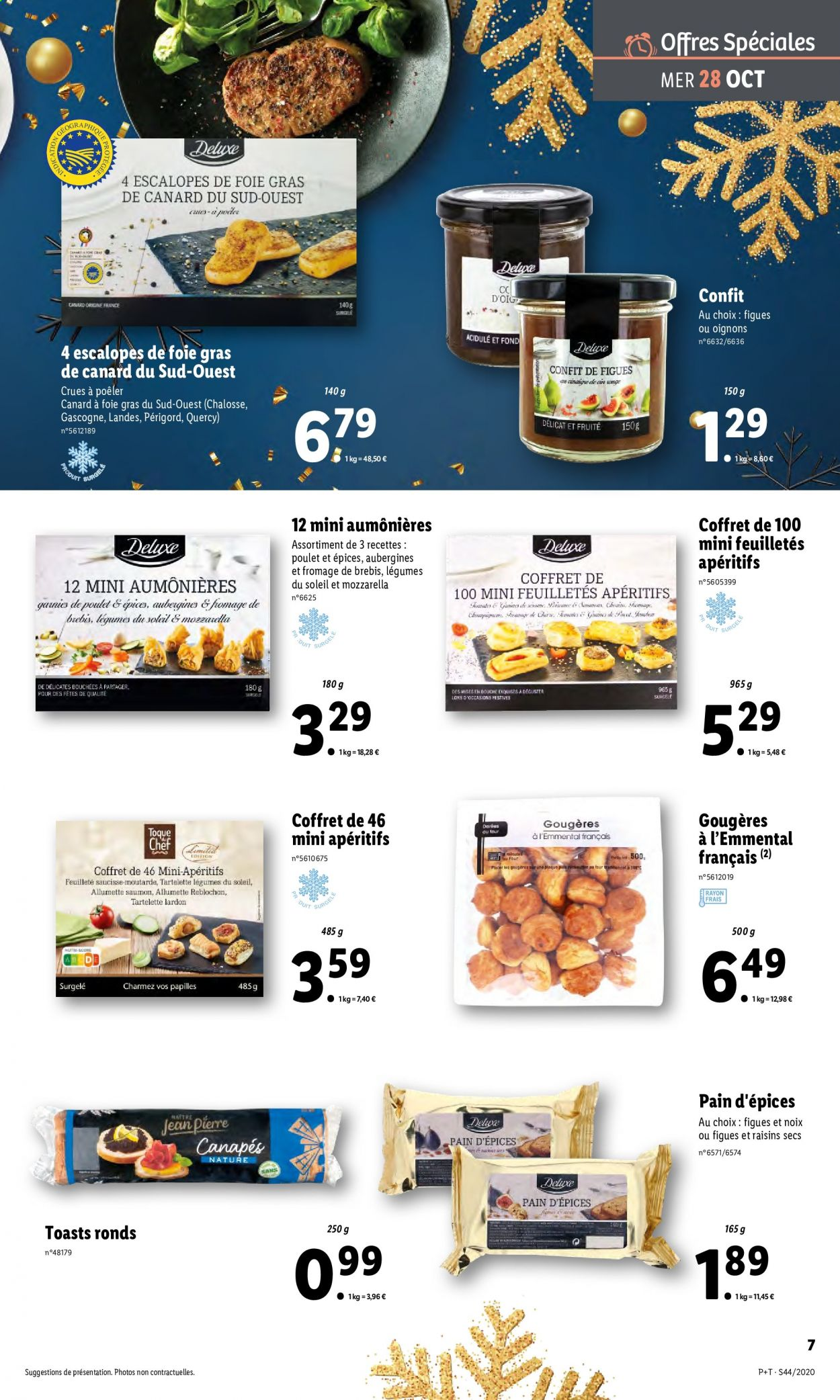 Catalogue Lidl - 28.10.2020 - 03.11.2020. Page 7.