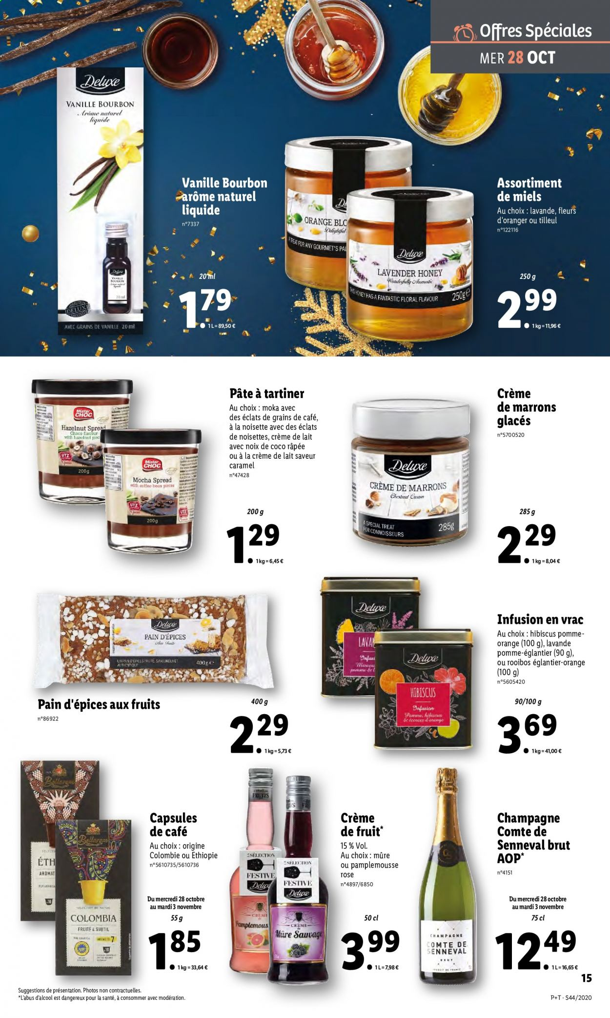 Catalogue Lidl - 28.10.2020 - 03.11.2020. Page 15.