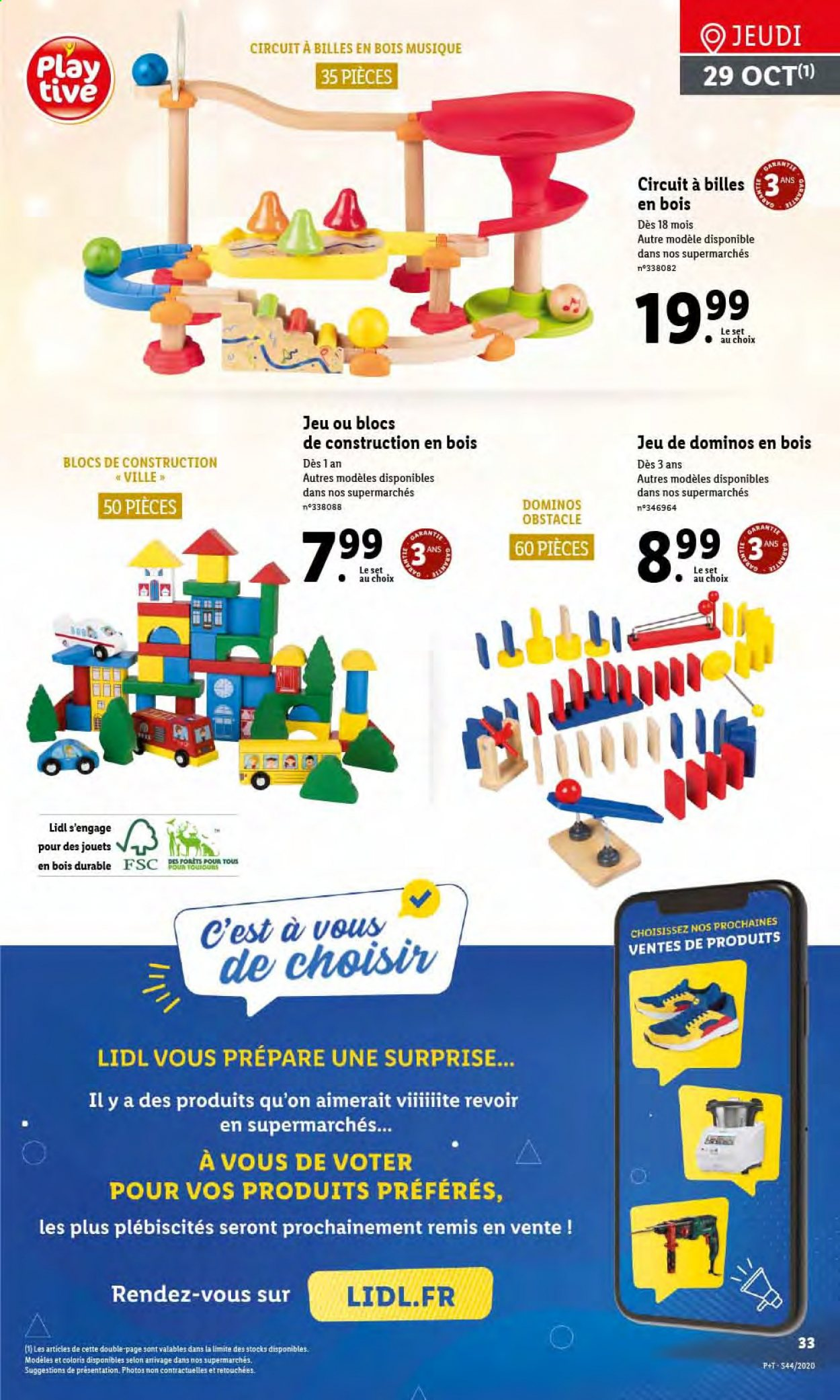 Catalogue Lidl - 28.10.2020 - 03.11.2020. Page 33.