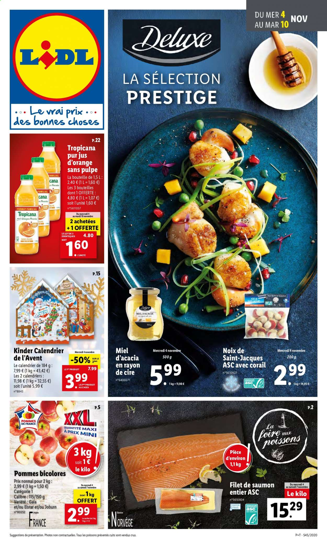 Catalogue Lidl - 04.11.2020 - 10.11.2020. Page 1.
