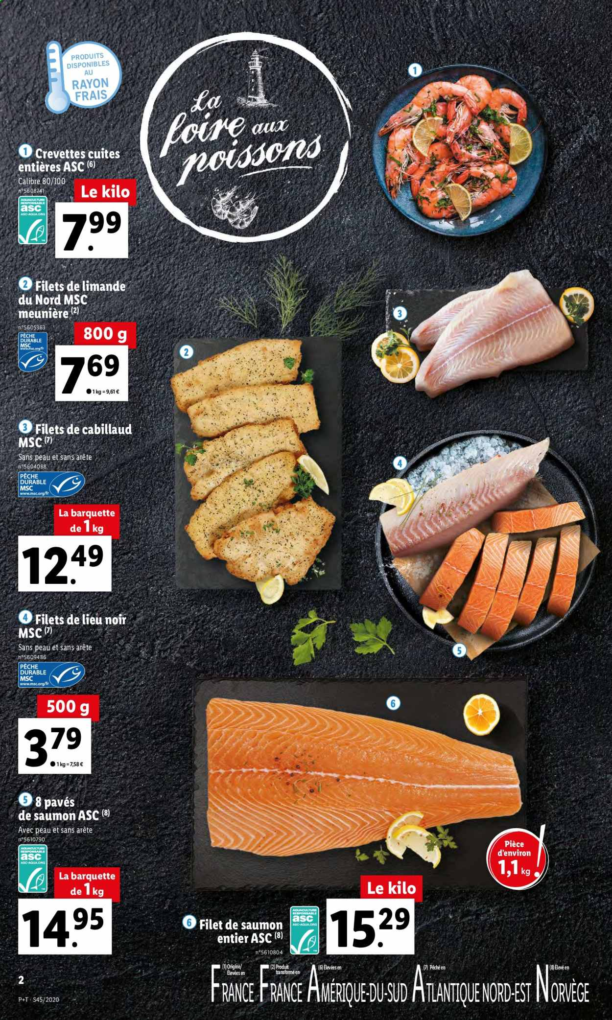 Catalogue Lidl - 04.11.2020 - 10.11.2020. Page 2.