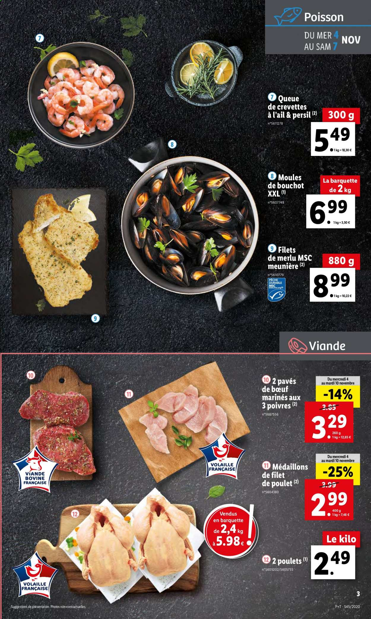 Catalogue Lidl - 04.11.2020 - 10.11.2020. Page 3.