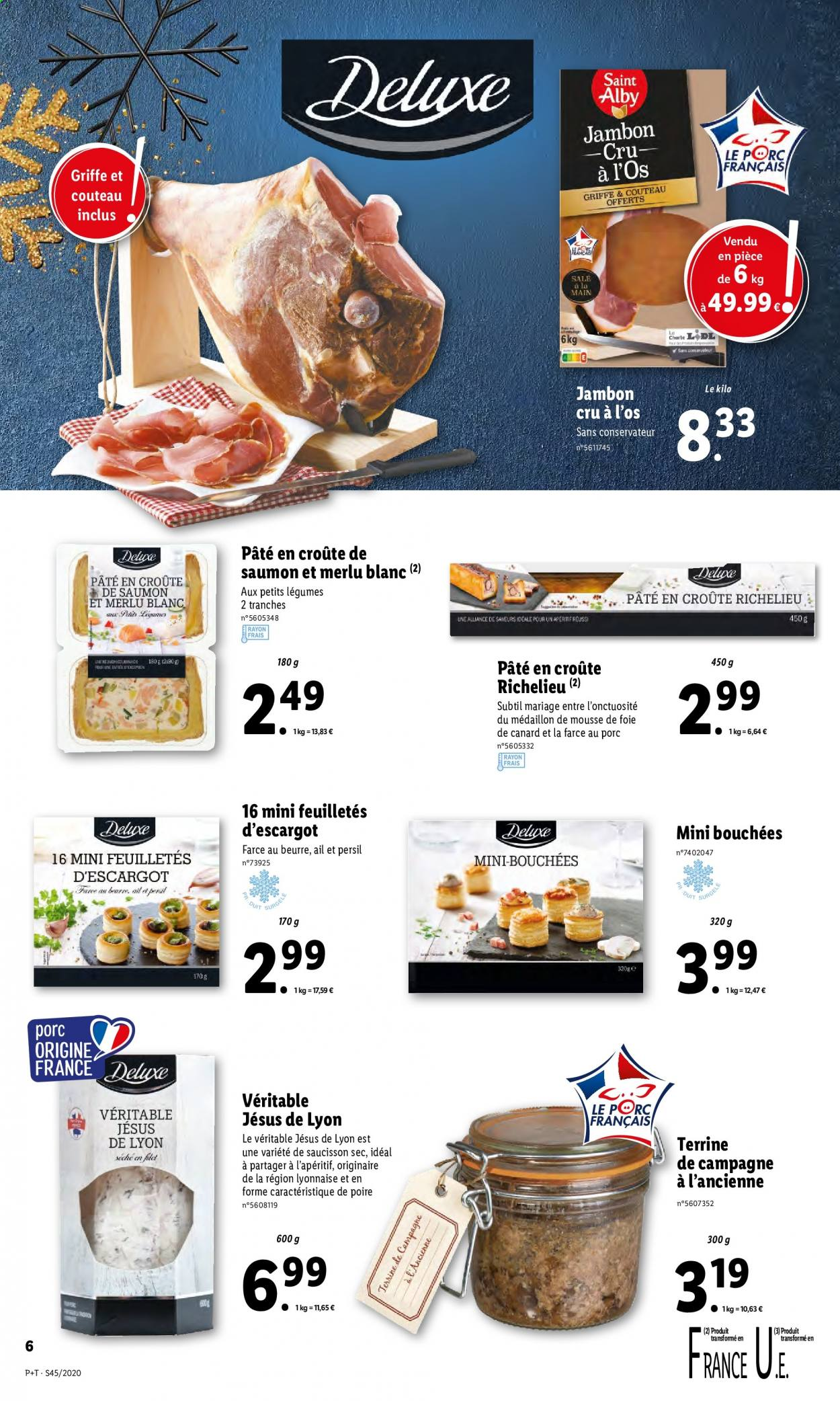 Catalogue Lidl - 04.11.2020 - 10.11.2020. Page 6.