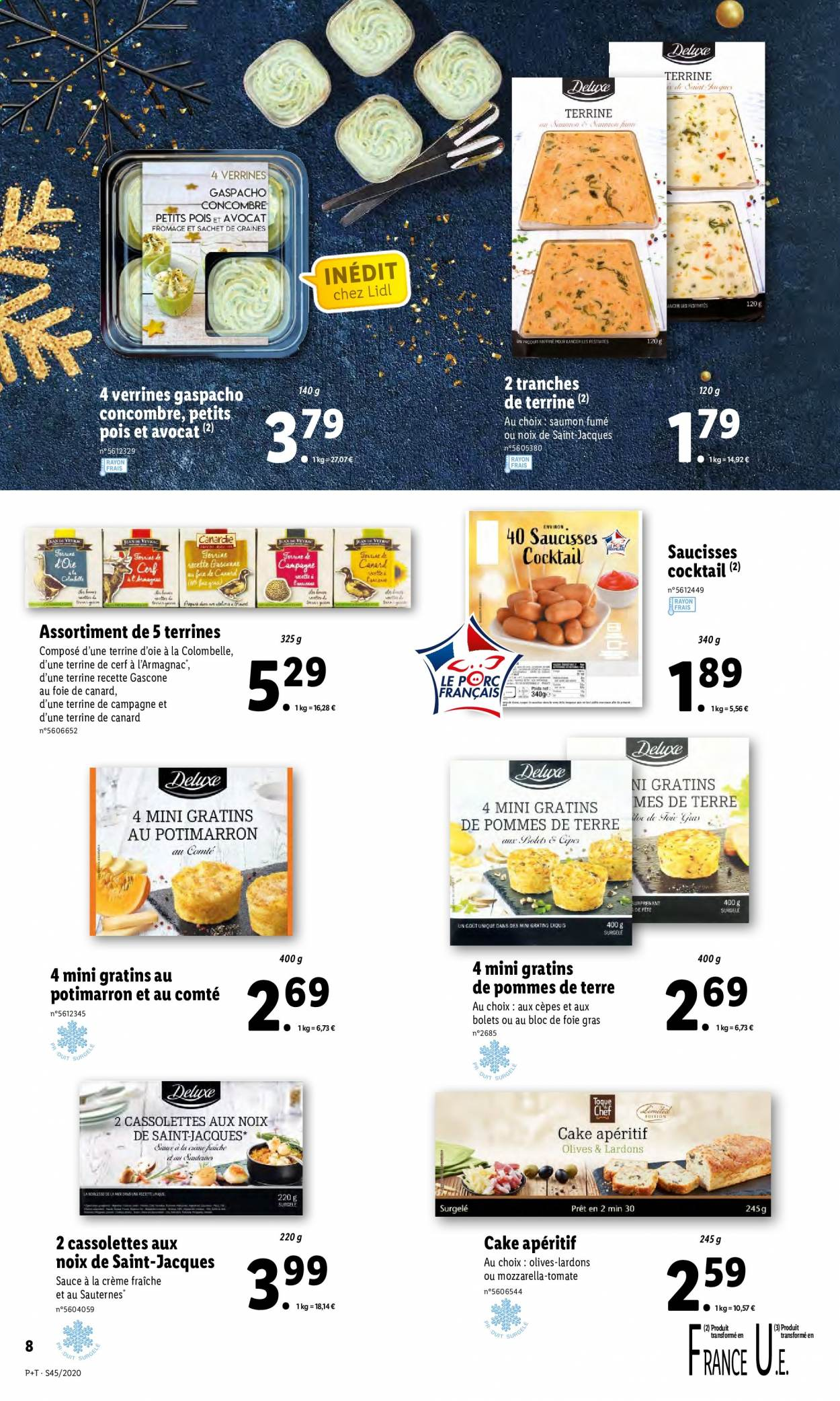 Catalogue Lidl - 04.11.2020 - 10.11.2020. Page 8.