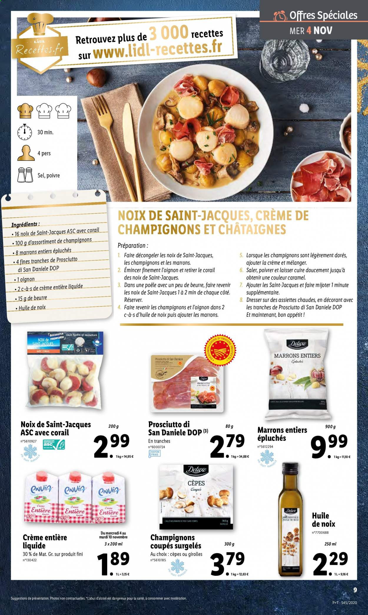 Catalogue Lidl - 04.11.2020 - 10.11.2020. Page 9.