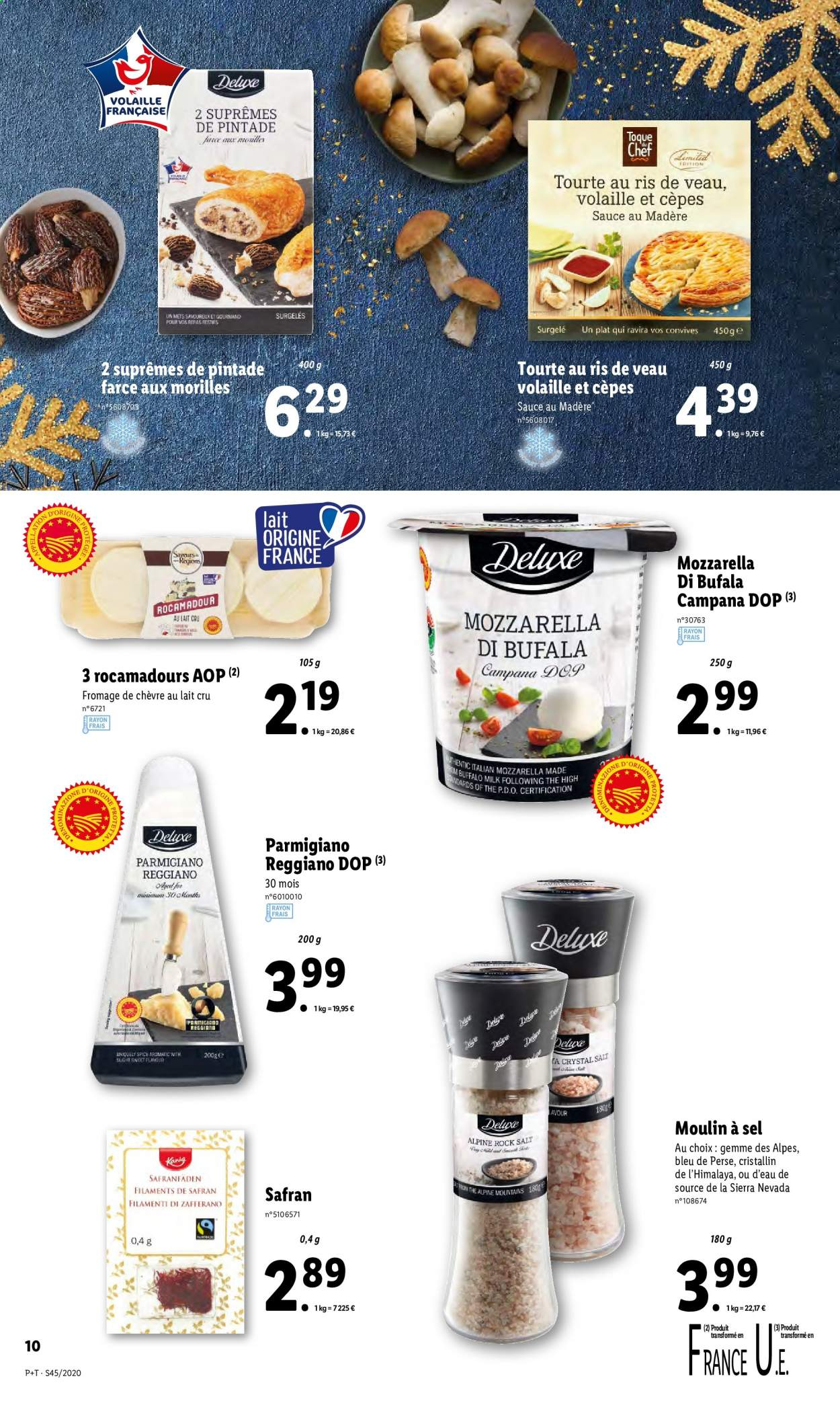 Catalogue Lidl - 04.11.2020 - 10.11.2020. Page 10.