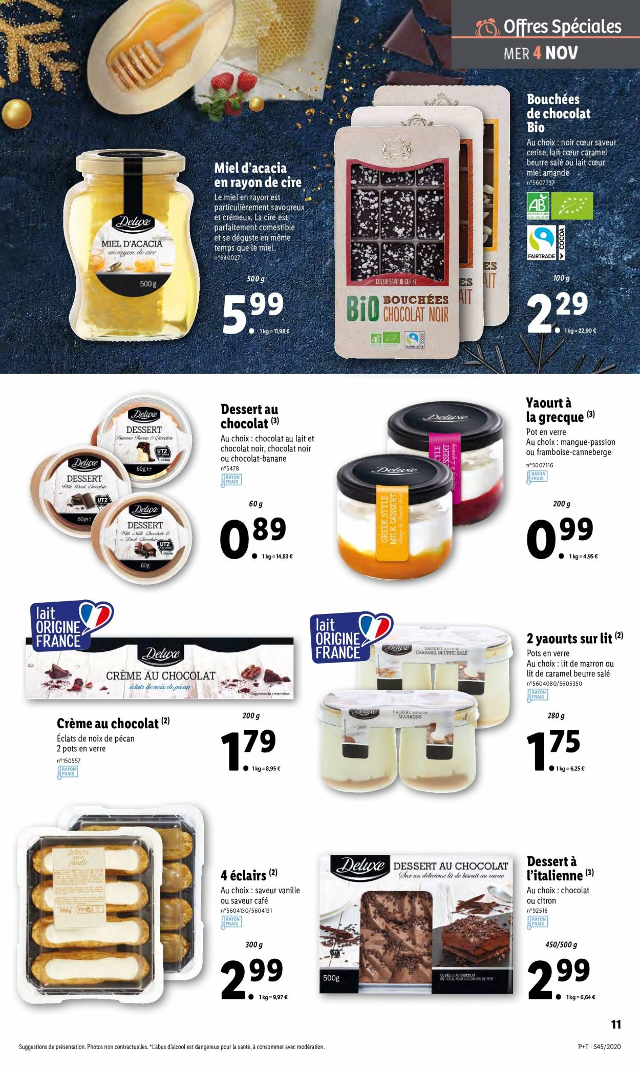 Catalogue Lidl - 04.11.2020 - 10.11.2020. Page 11.