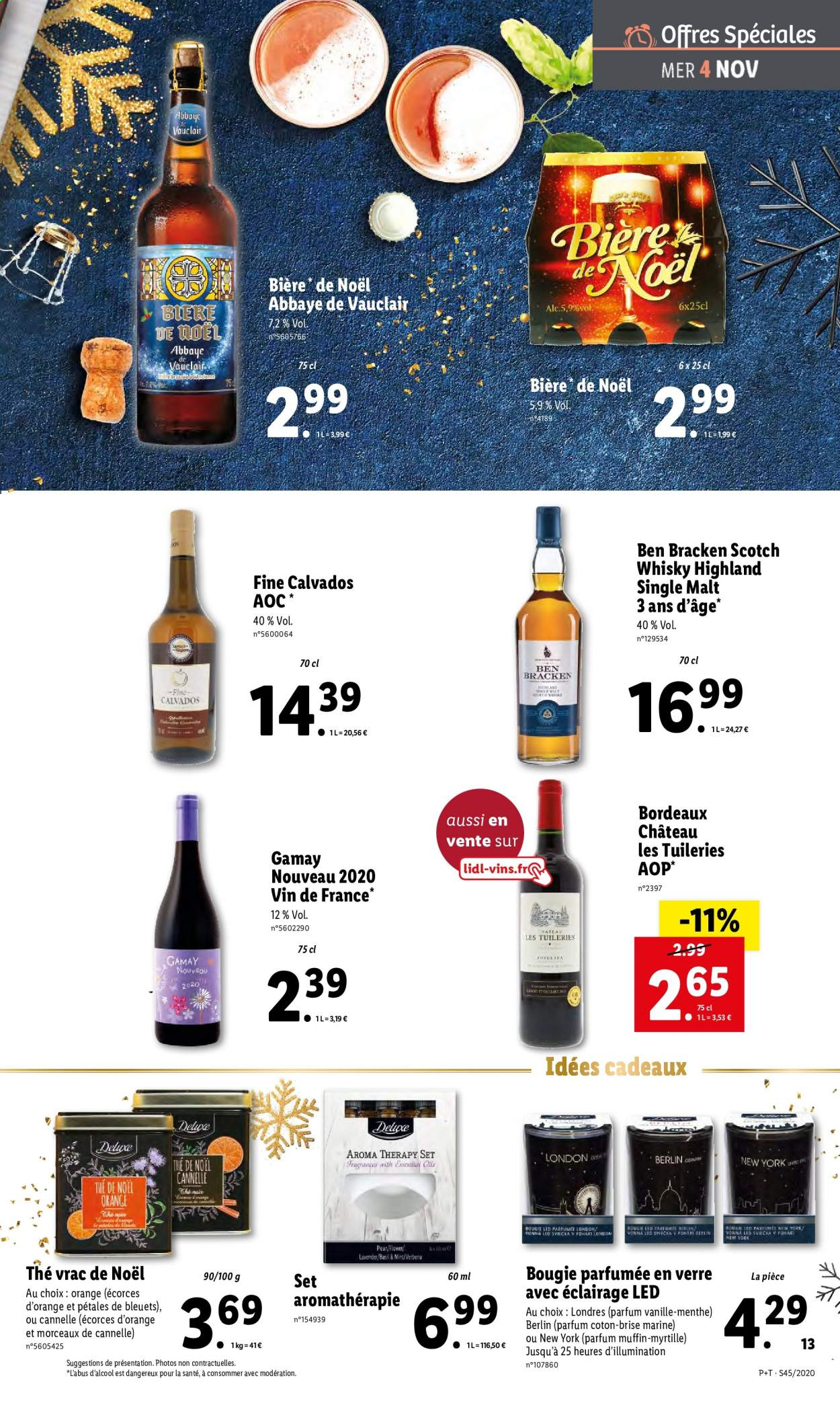 Catalogue Lidl - 04.11.2020 - 10.11.2020. Page 13.