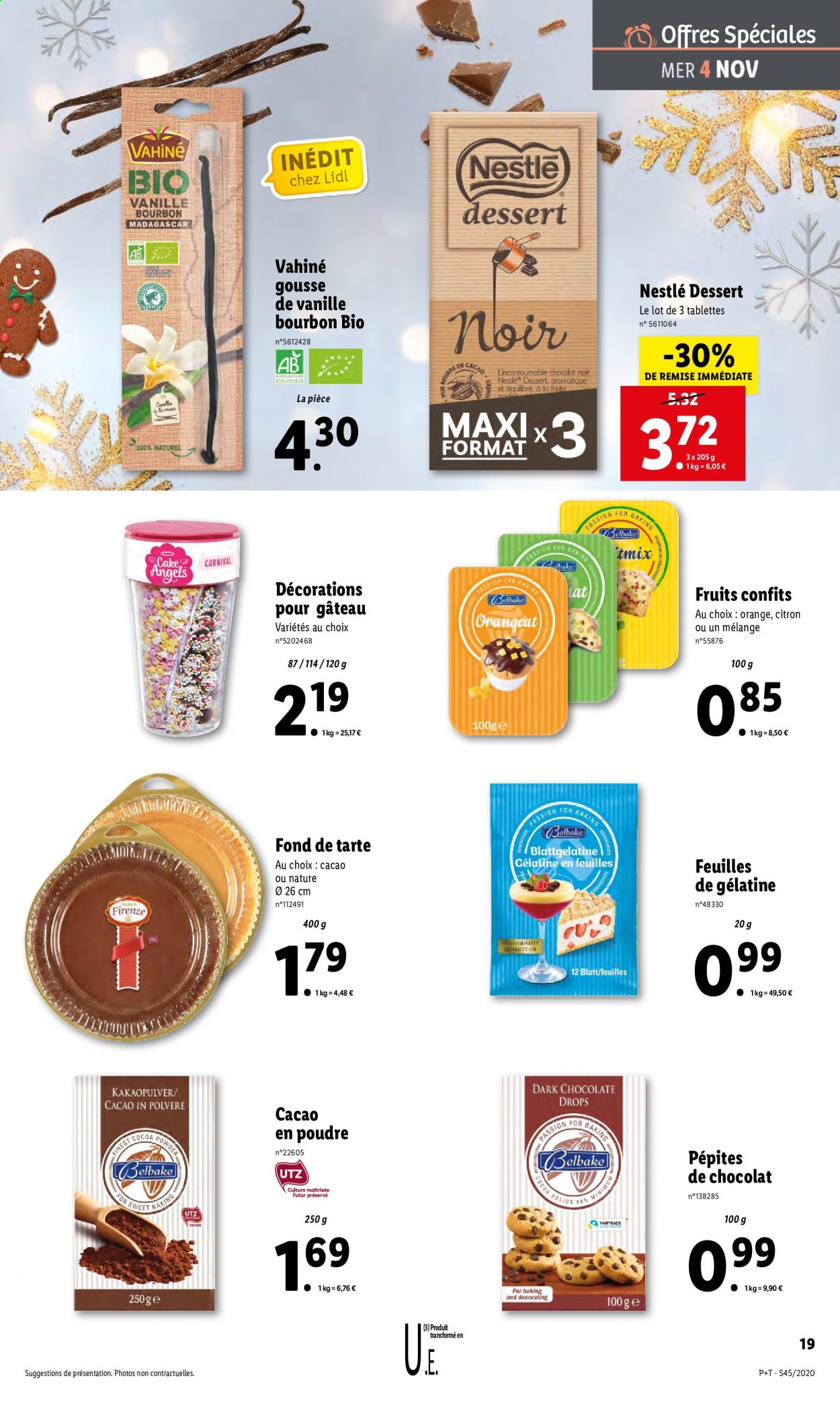 Catalogue Lidl - 04.11.2020 - 10.11.2020. Page 19.