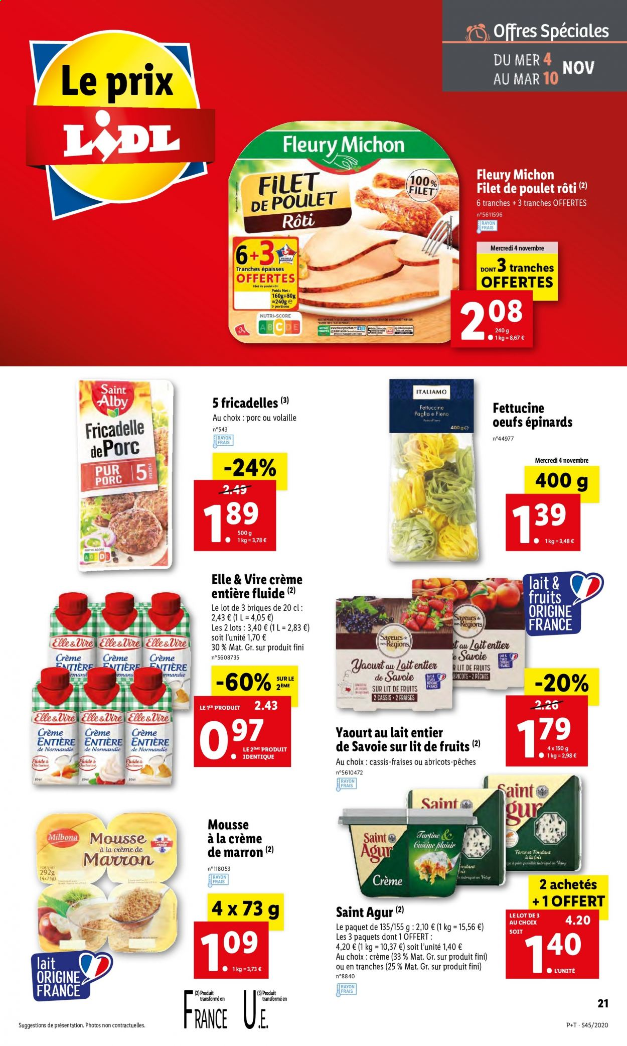 Catalogue Lidl - 04.11.2020 - 10.11.2020. Page 21.