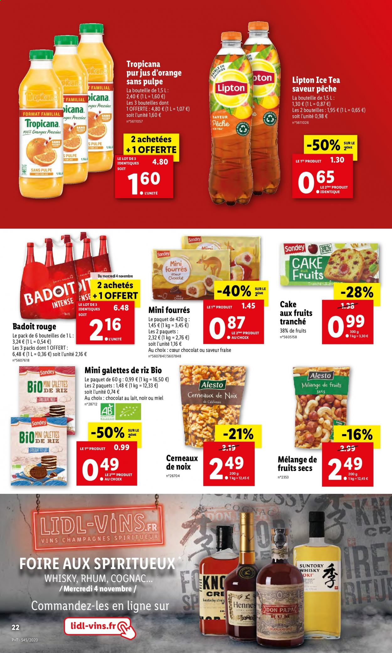 Catalogue Lidl - 04.11.2020 - 10.11.2020. Page 22.