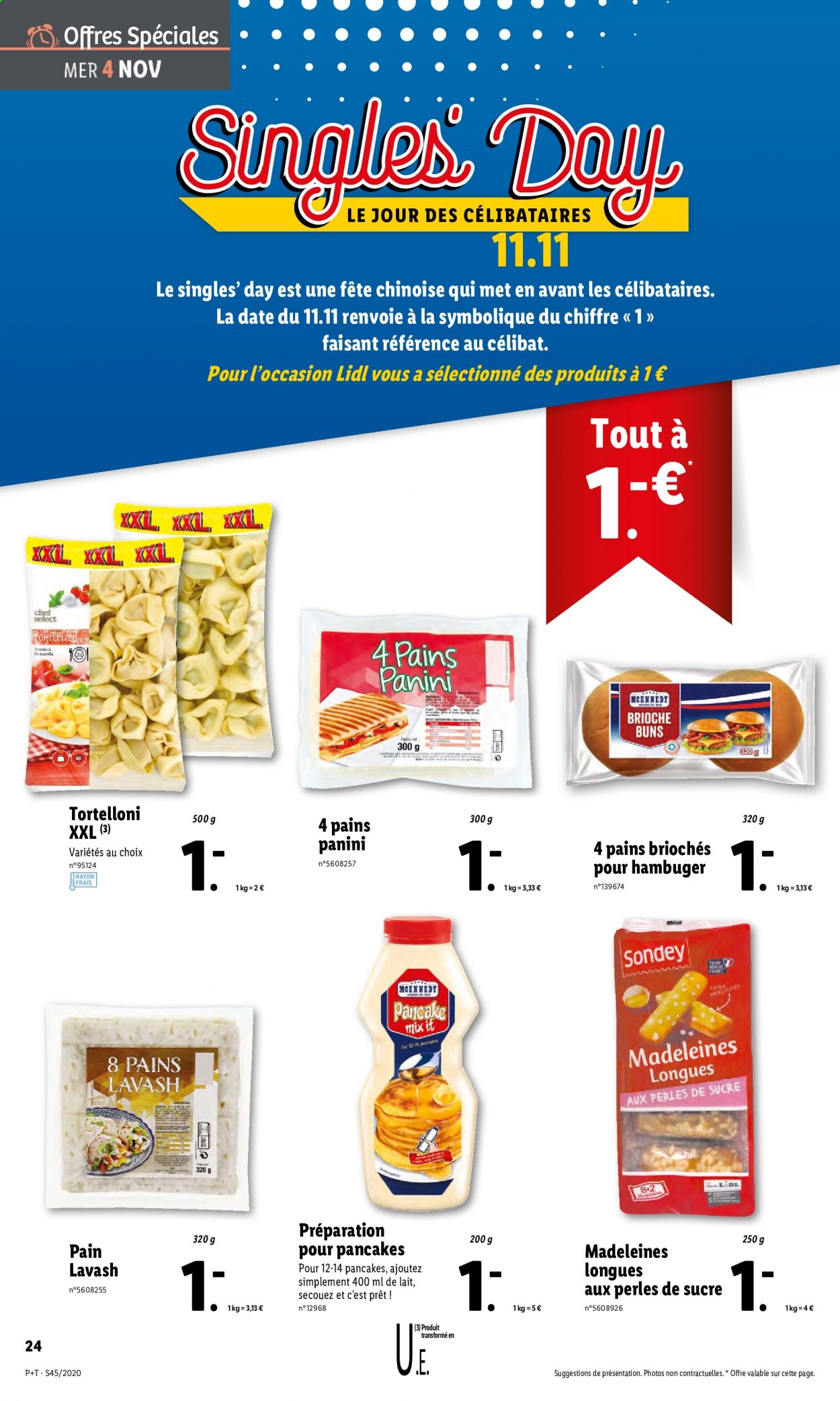 Catalogue Lidl - 04.11.2020 - 10.11.2020. Page 24.