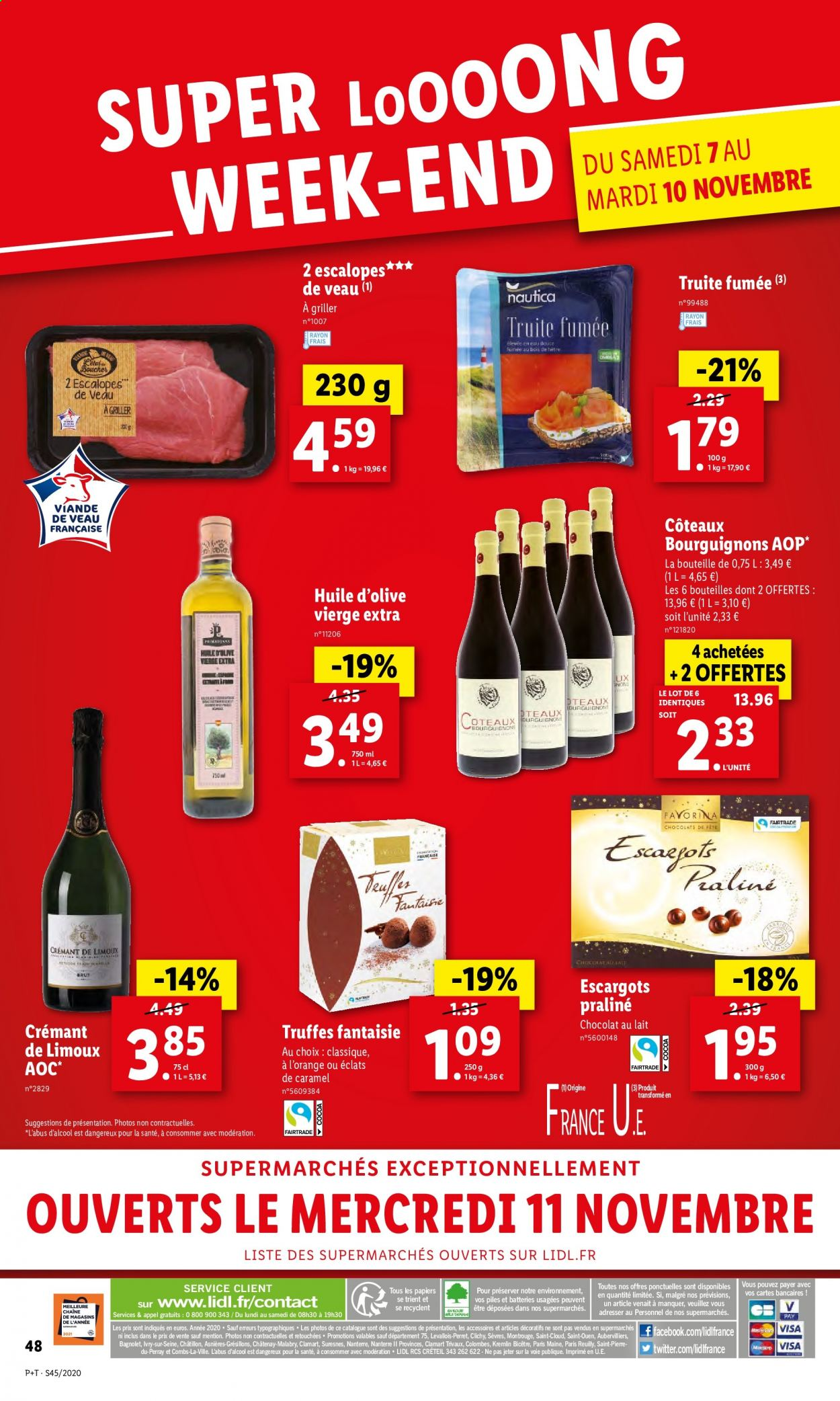 Catalogue Lidl - 04.11.2020 - 10.11.2020. Page 48.