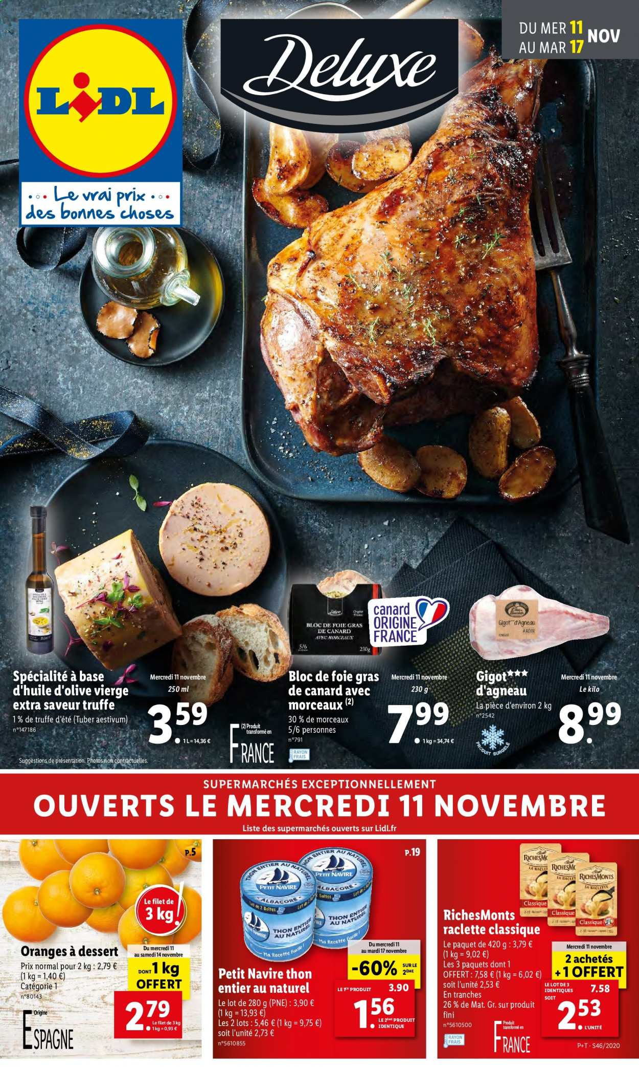 Catalogue Lidl - 11.11.2020 - 17.11.2020. Page 1.