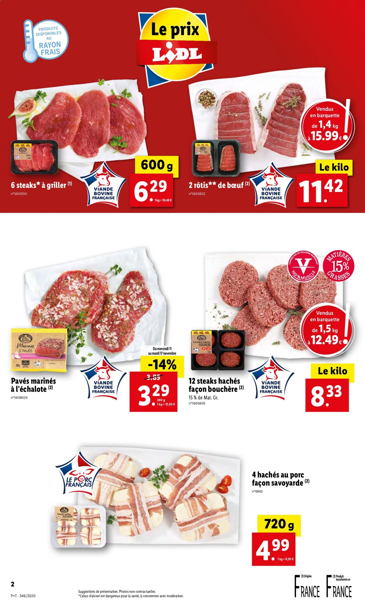 Catalogue Lidl - 11.11.2020 - 17.11.2020. Page 2.
