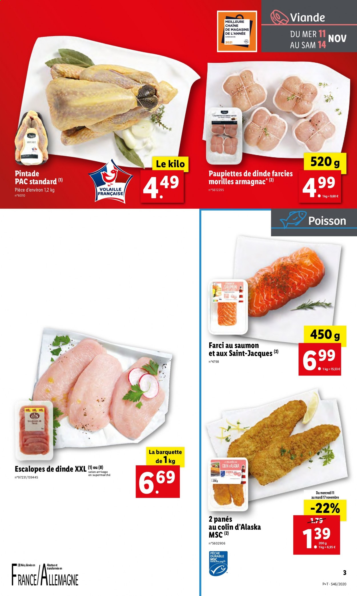 Catalogue Lidl - 11.11.2020 - 17.11.2020. Page 3.