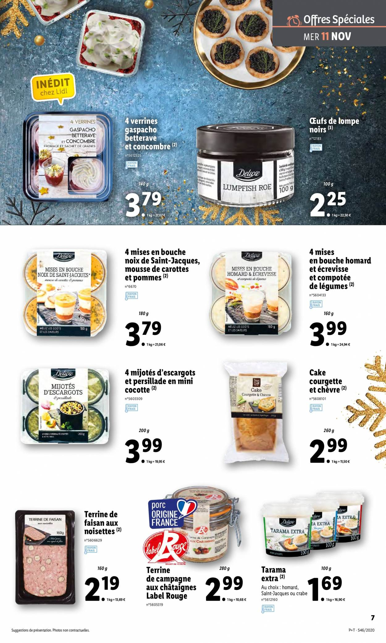 Catalogue Lidl - 11.11.2020 - 17.11.2020. Page 7.