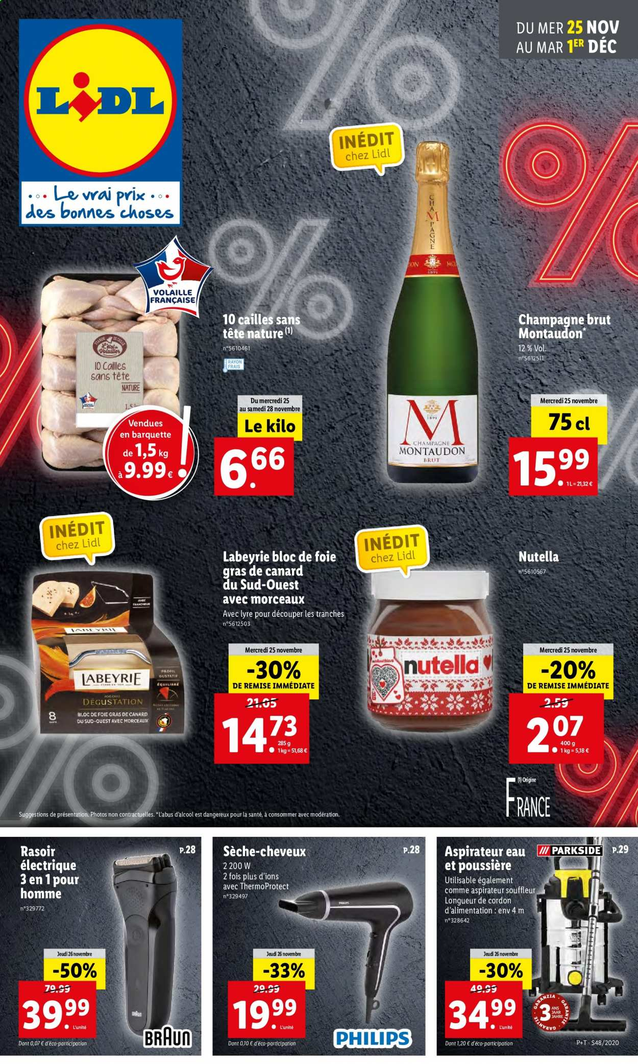 Catalogue Lidl - 25.11.2020 - 01.12.2020. Page 1.