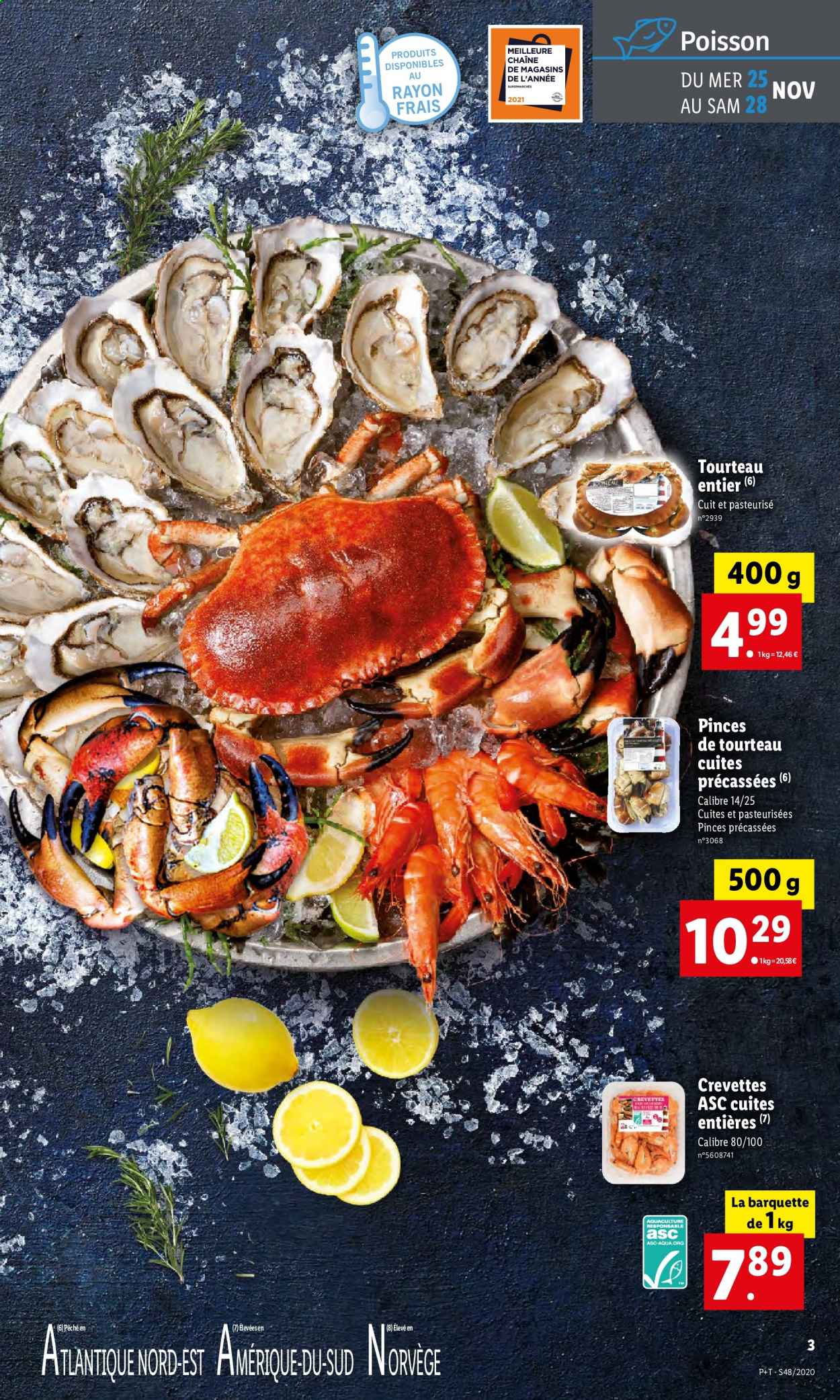 Catalogue Lidl - 25.11.2020 - 01.12.2020. Page 3.