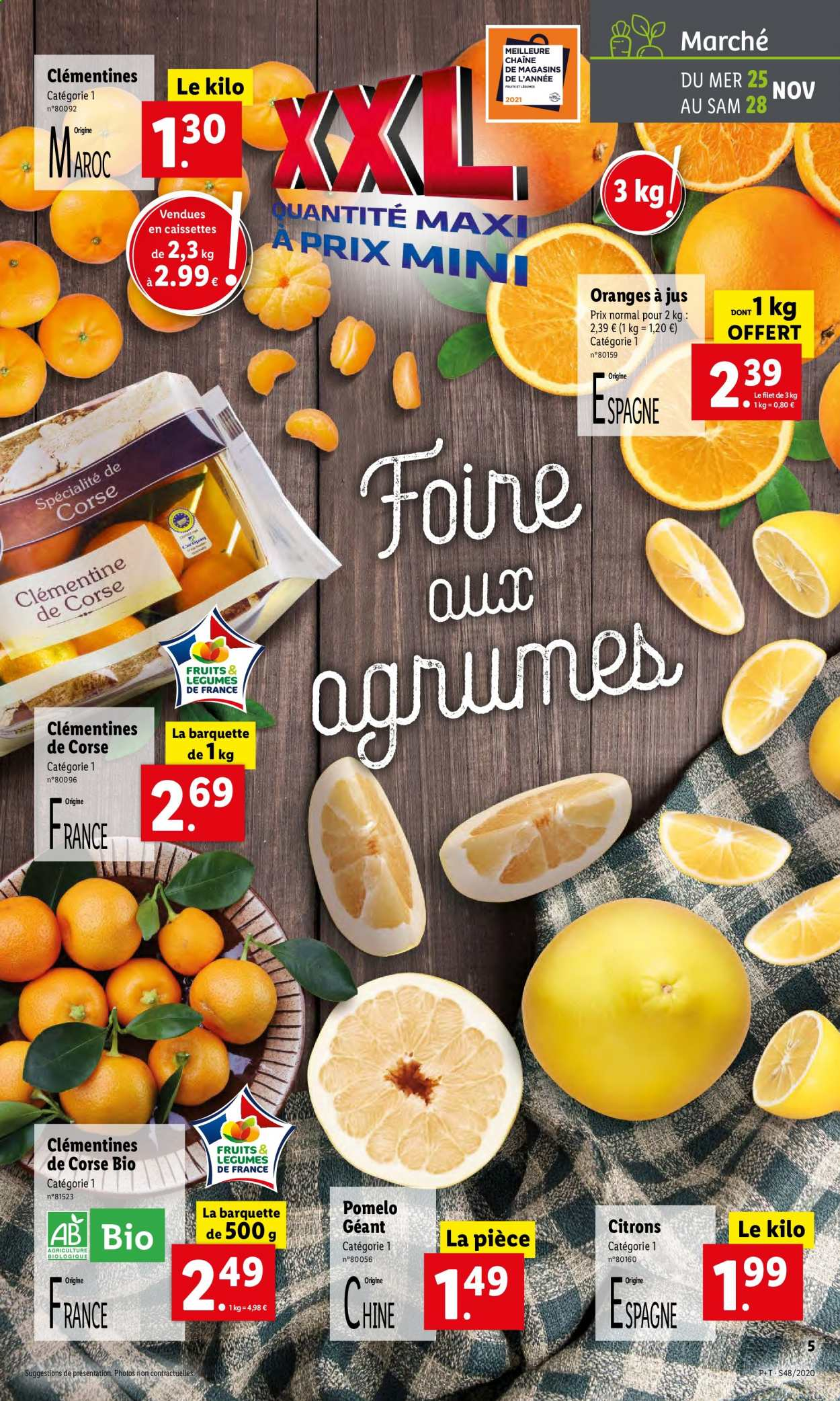 Catalogue Lidl - 25.11.2020 - 01.12.2020. Page 5.