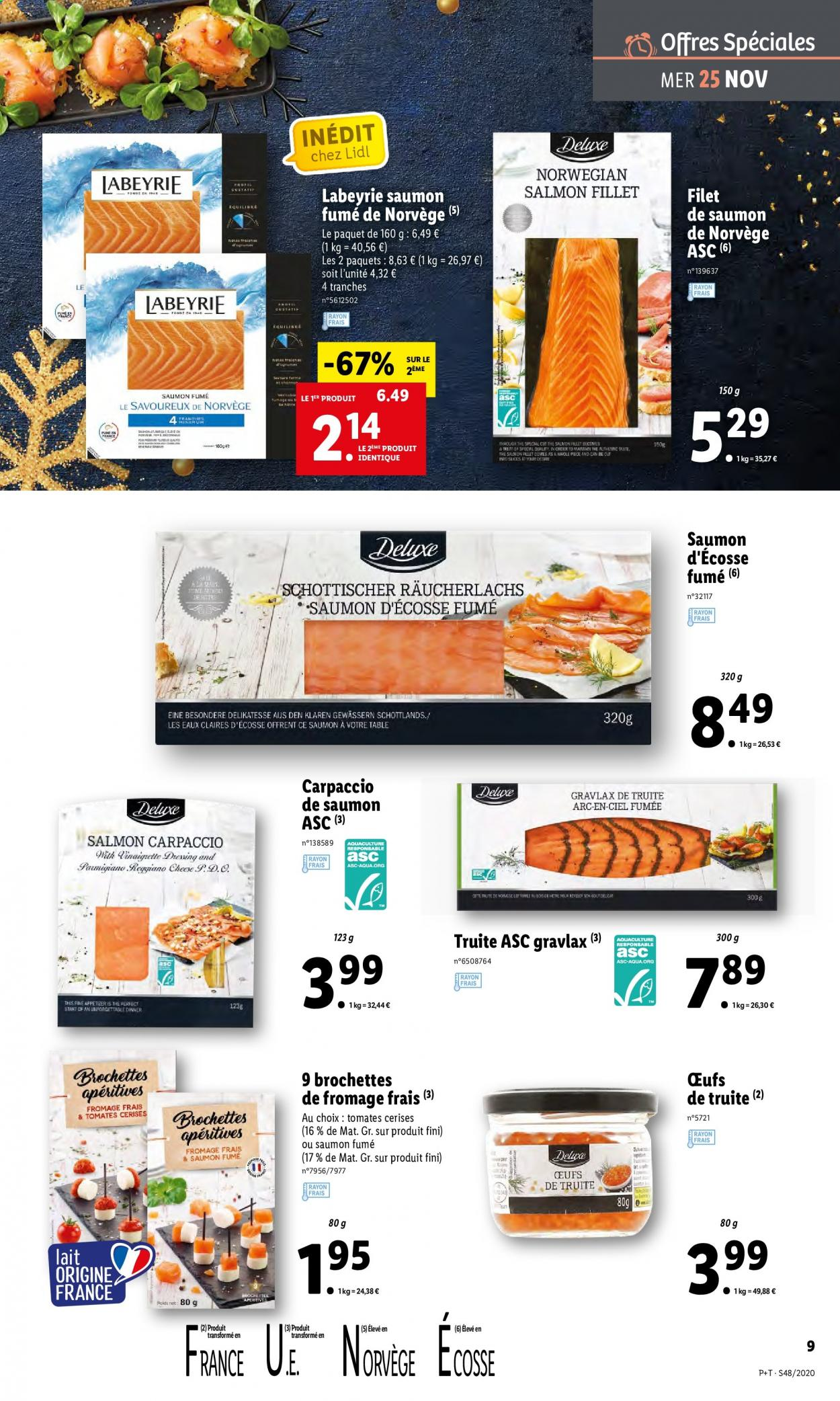 Catalogue Lidl - 25.11.2020 - 01.12.2020. Page 9.