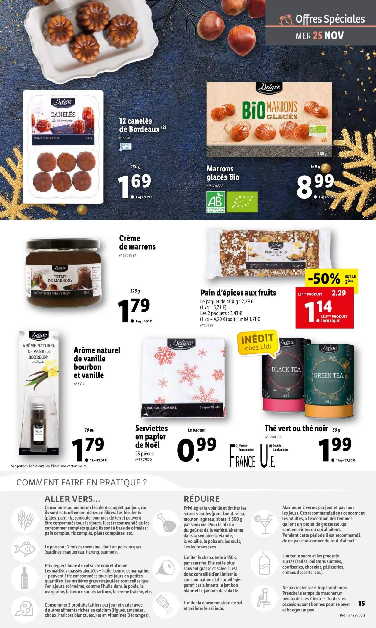 Catalogue Lidl - 25.11.2020 - 01.12.2020. Page 15.
