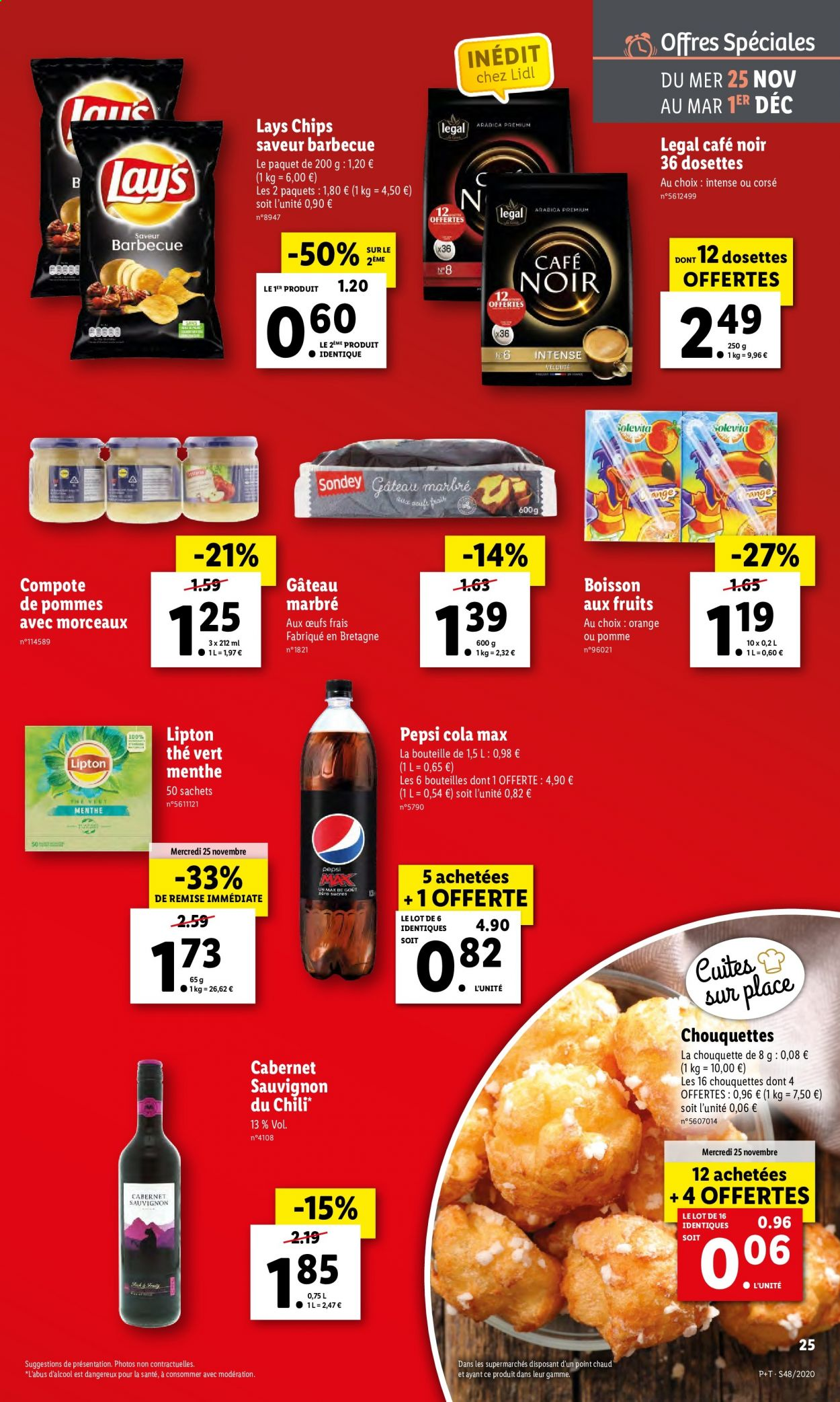 Catalogue Lidl - 25.11.2020 - 01.12.2020. Page 25.