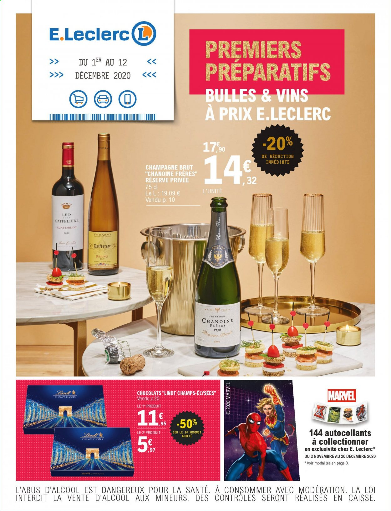 Catalogue E.Leclerc - 01.12.2020 - 12.12.2020. Page 1.